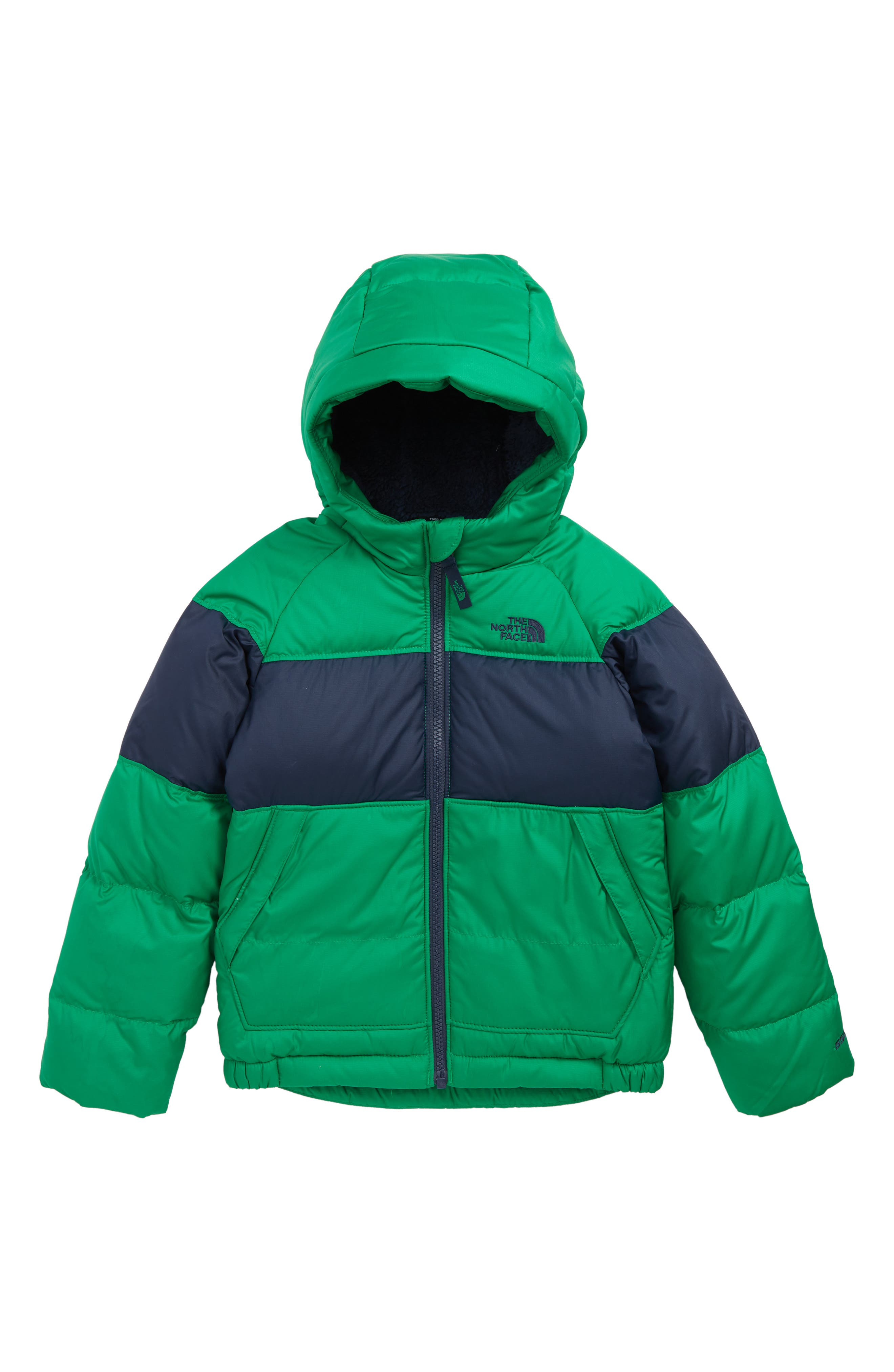 Moondoggy 2.0 Water Repellent Down Jacket,                         Main,                         color, PRIMARY GREEN