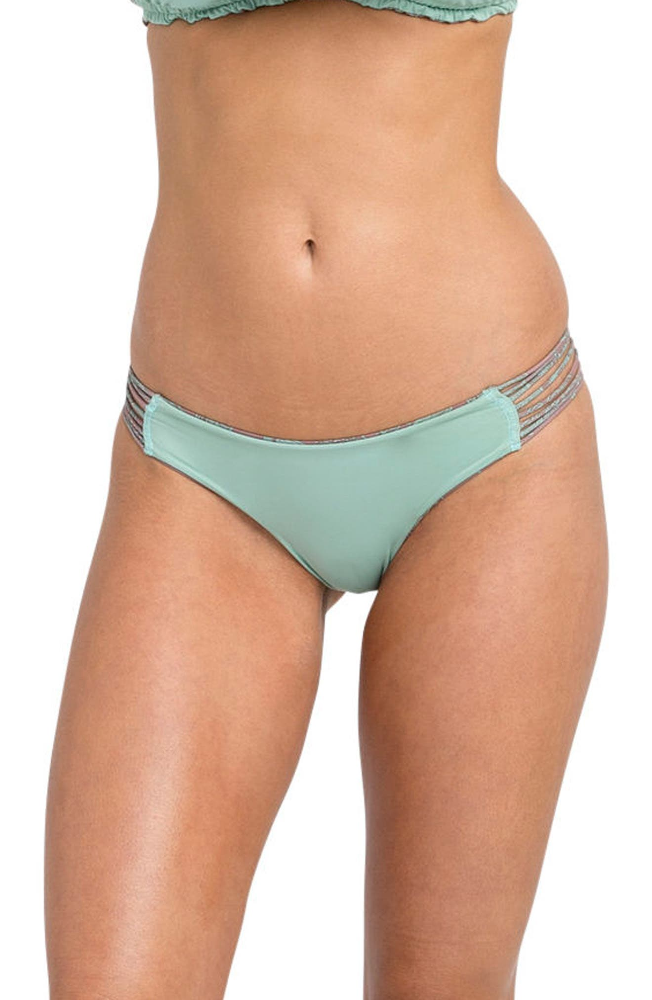 Palmer Reversible Cheeky Bikini Bottoms,                             Alternate thumbnail 2, color,                             500