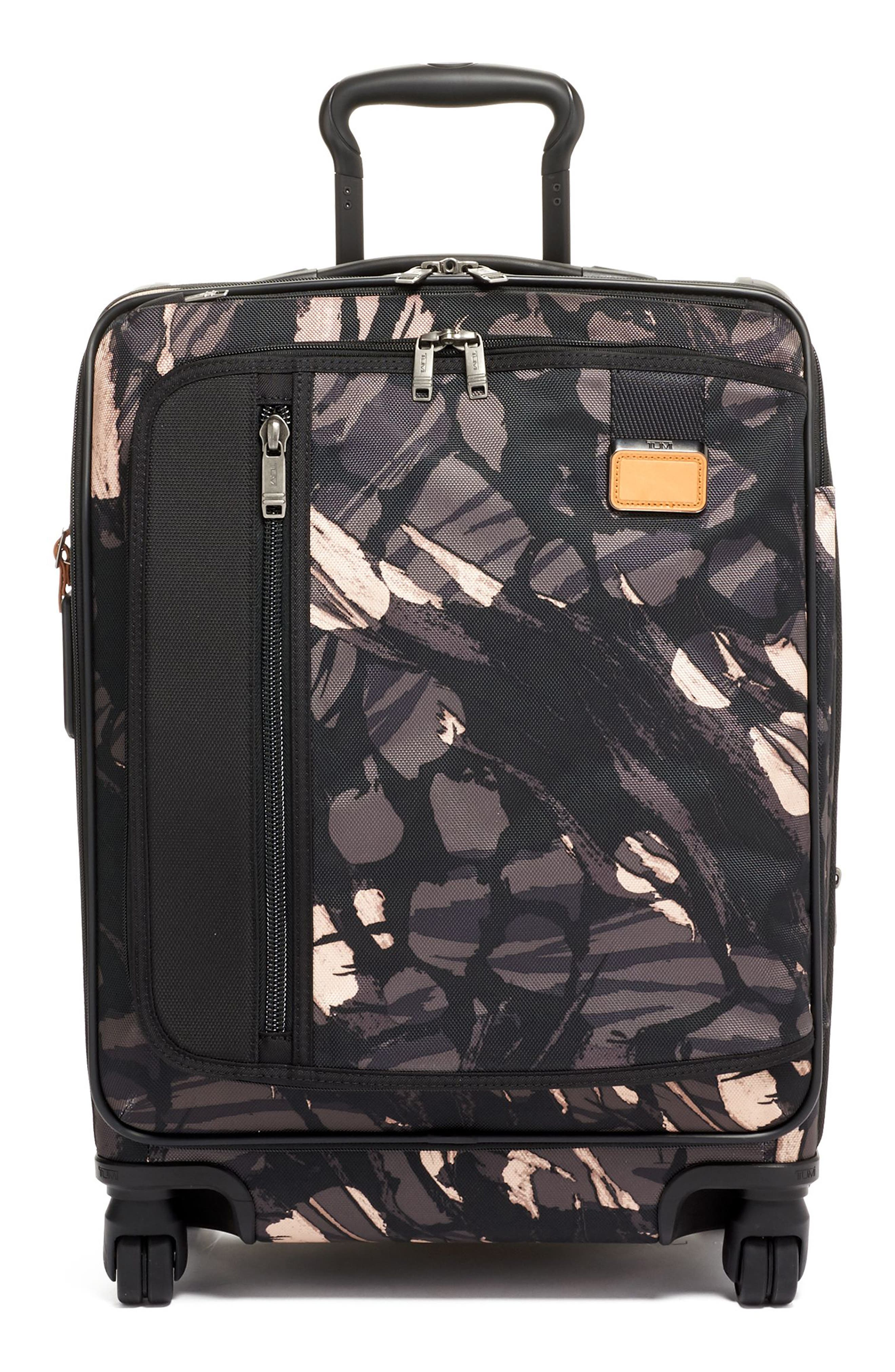 TUMI,                             Merge 22-Inch Continental Expandable Rolling Carry-On,                             Main thumbnail 1, color,                             GREY HIGHLANDS PRINT