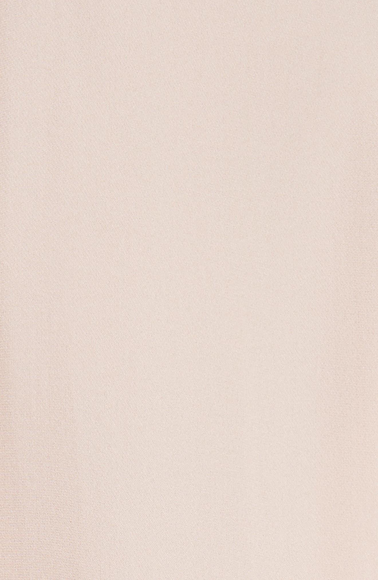 Long Sleeve Ruffle Silk Blouse,                             Alternate thumbnail 5, color,                             696
