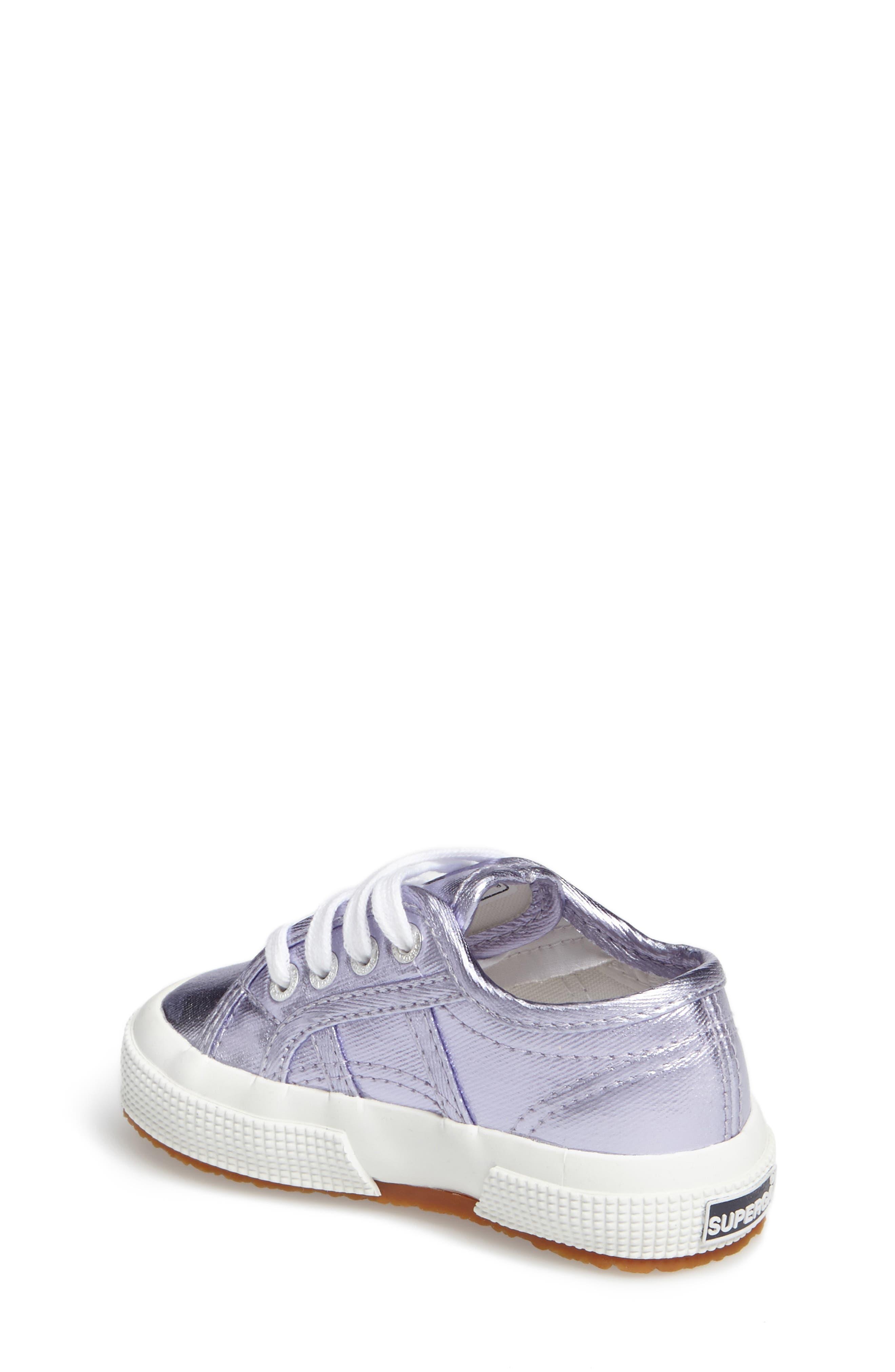 Metallic Sneaker,                             Alternate thumbnail 4, color,