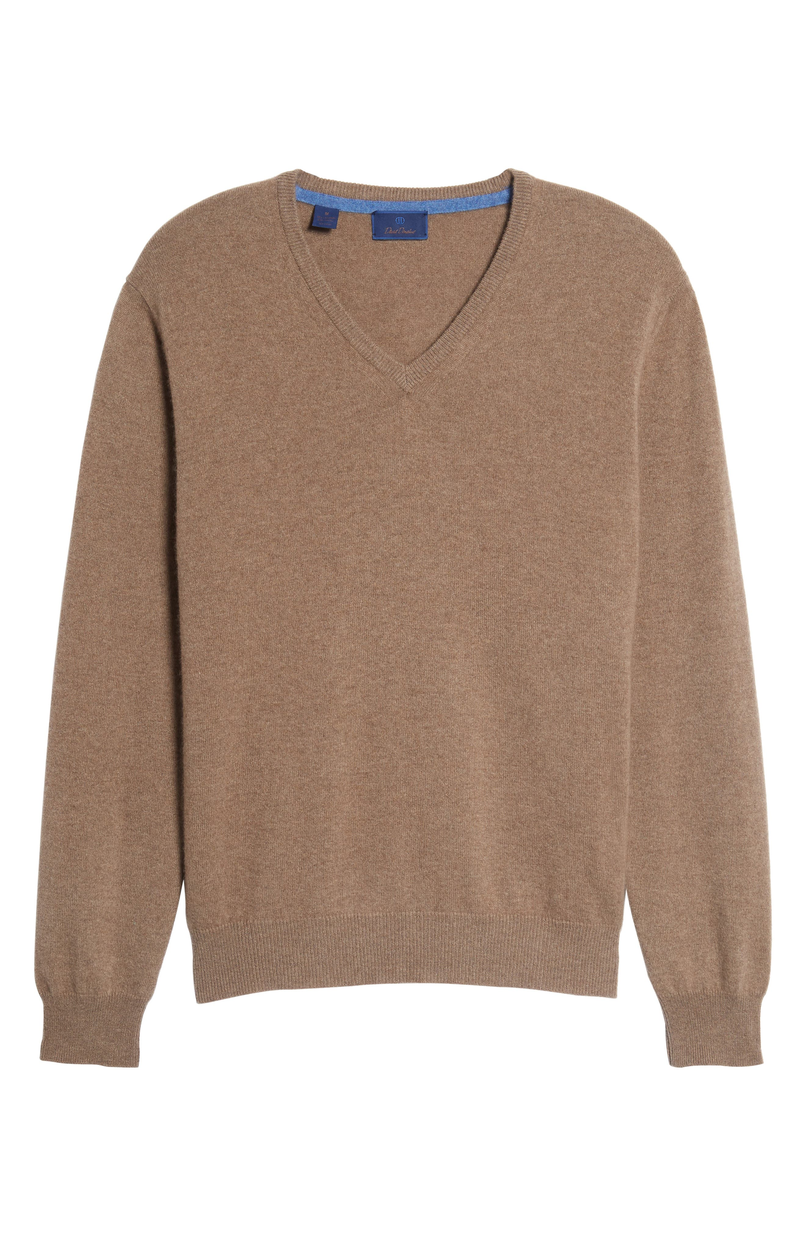 Cashmere V-Neck Sweater,                             Alternate thumbnail 33, color,
