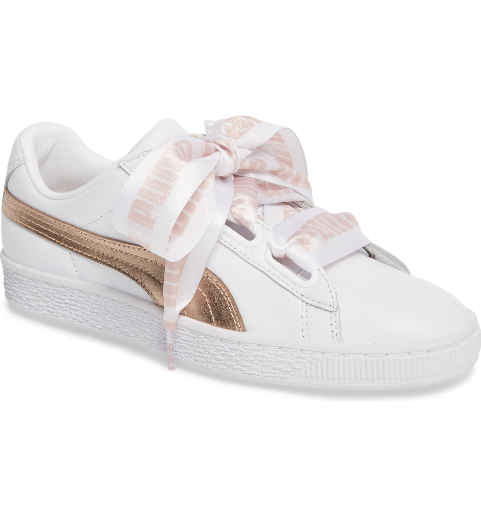 Puma Basket Heart Sneaker   Nordstrom 4a6a9a8895f3