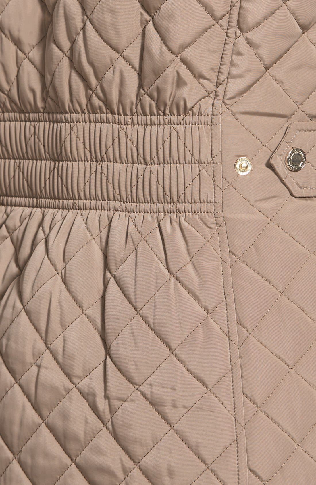 Hooded Quilted Jacket,                             Alternate thumbnail 43, color,