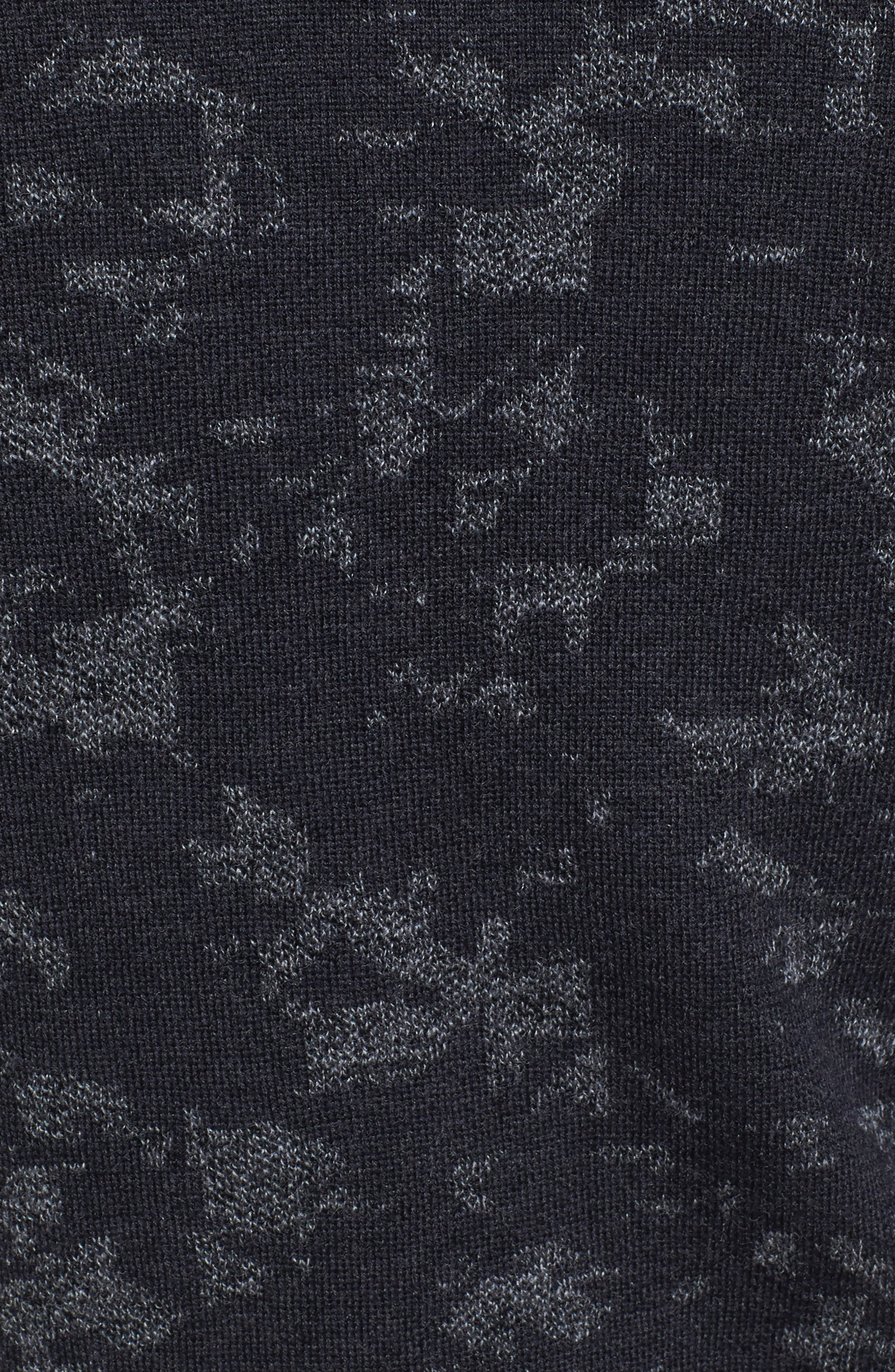 Gelato Jacquard Sweater,                             Alternate thumbnail 5, color,                             020