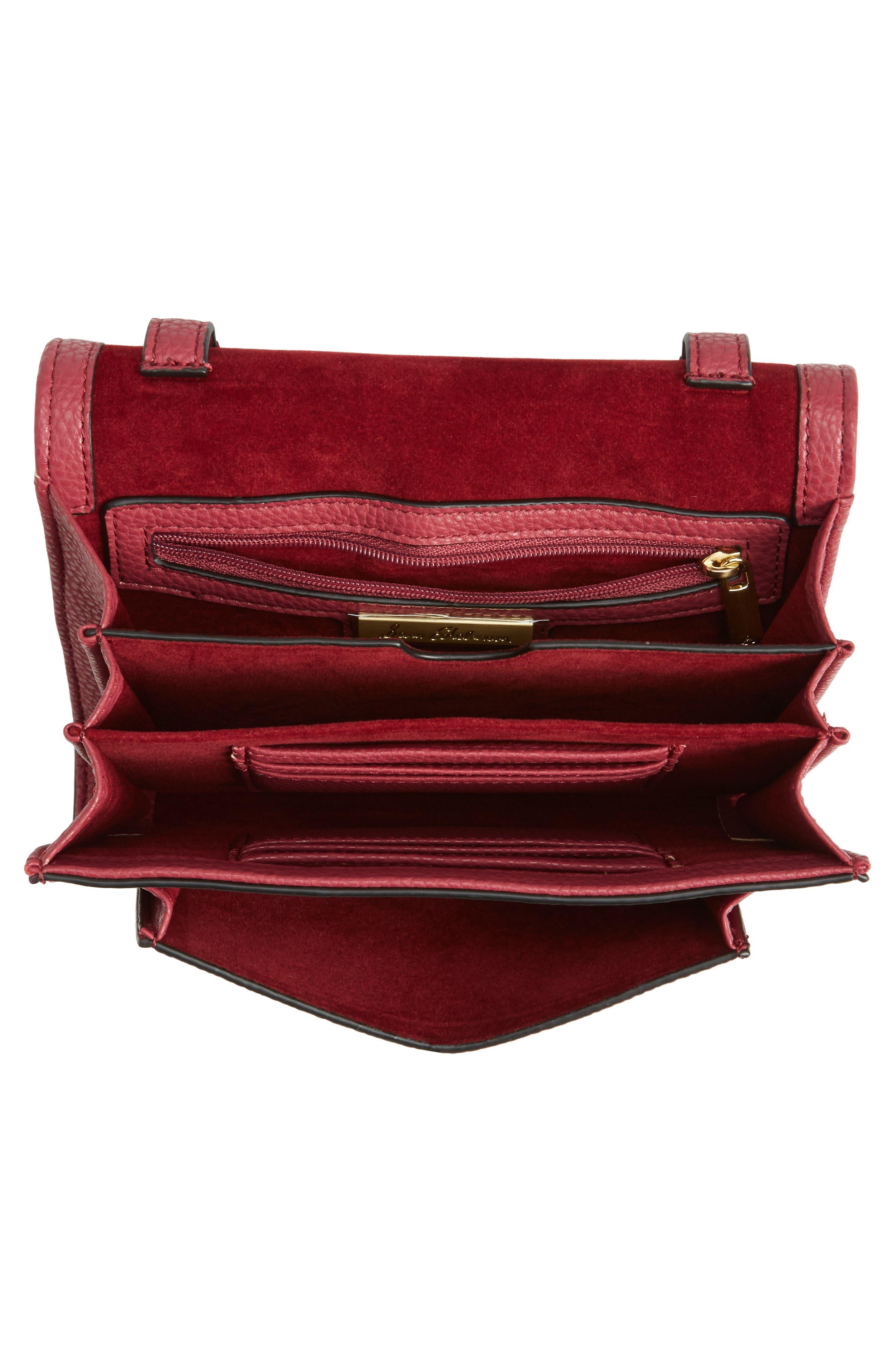 Florence Faux Leather Clutch Wallet,                             Alternate thumbnail 8, color,