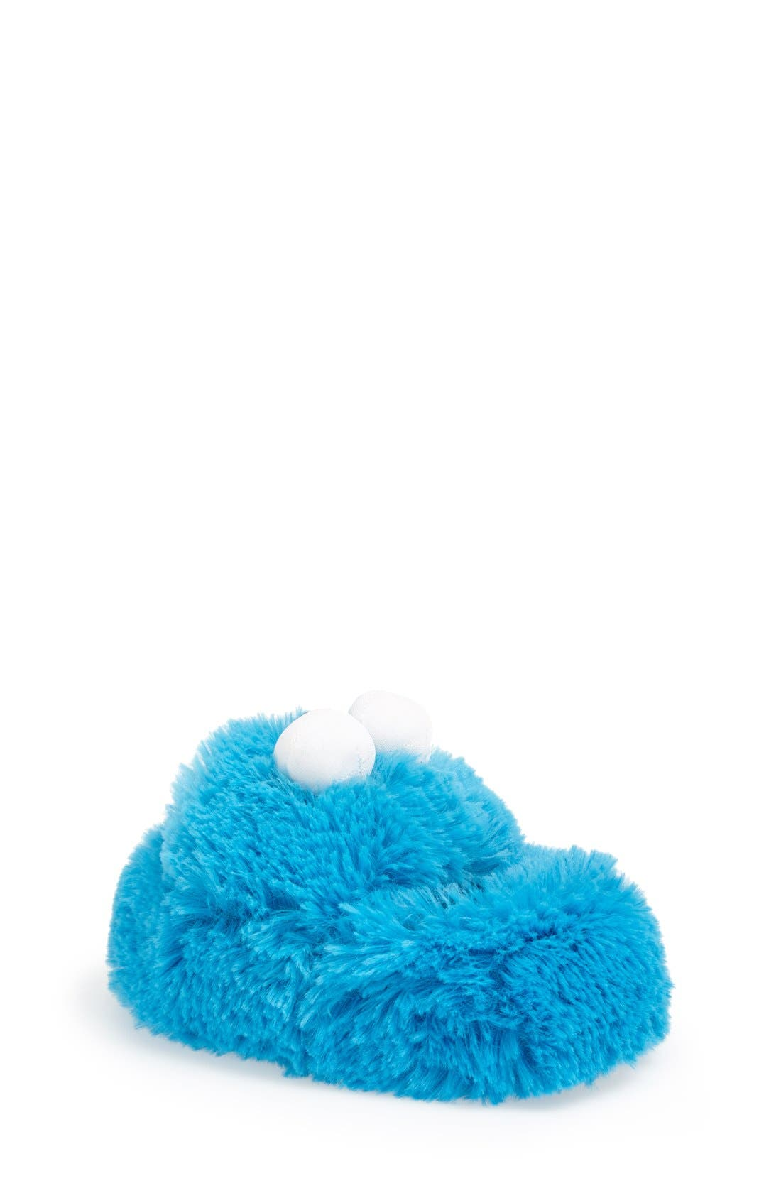 STRIDE RITE,                             'Cookie Monster<sup>™</sup>' Slipper,                             Alternate thumbnail 3, color,                             400