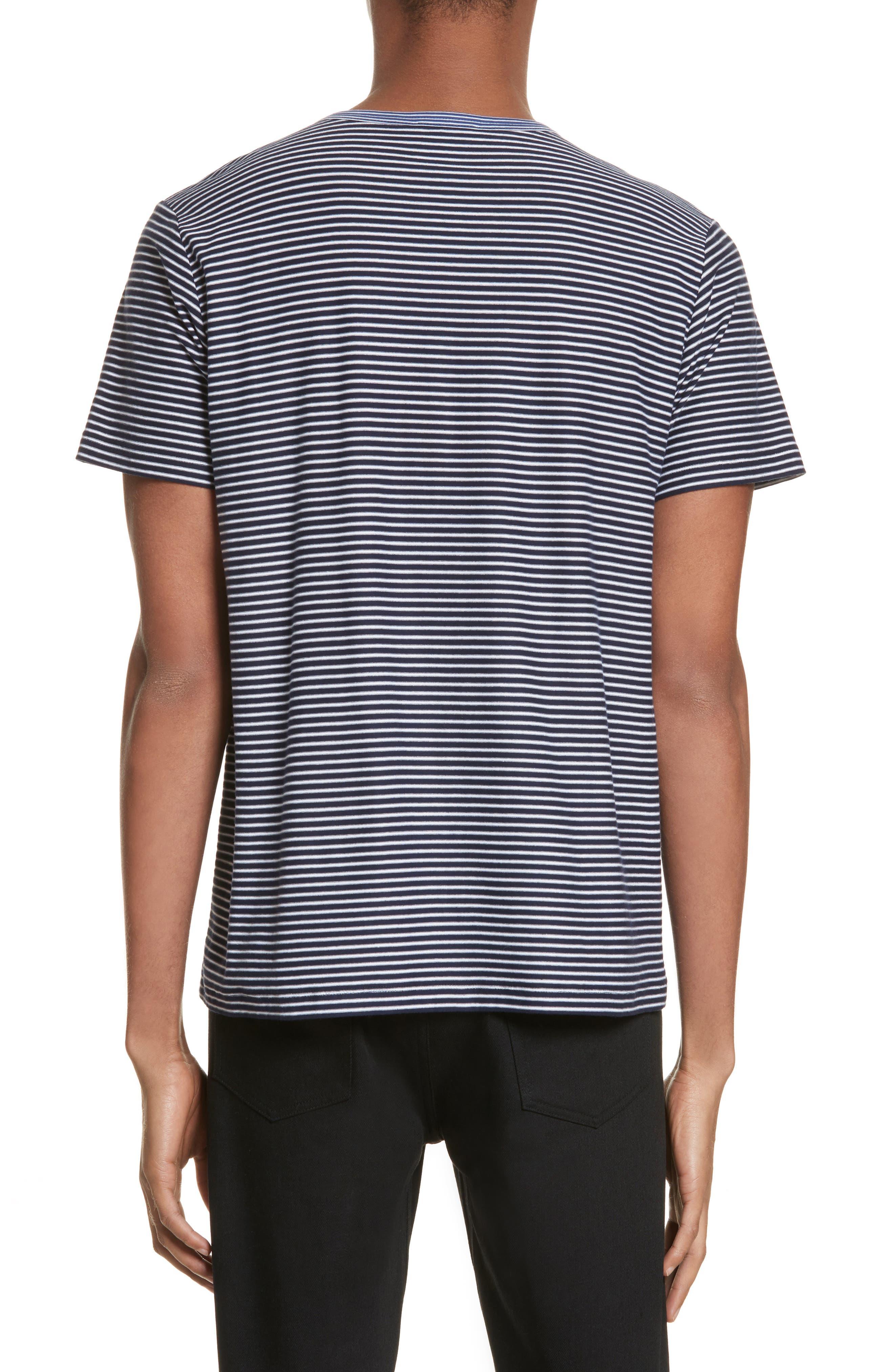 Maui Stripe T-Shirt,                             Alternate thumbnail 2, color,                             410