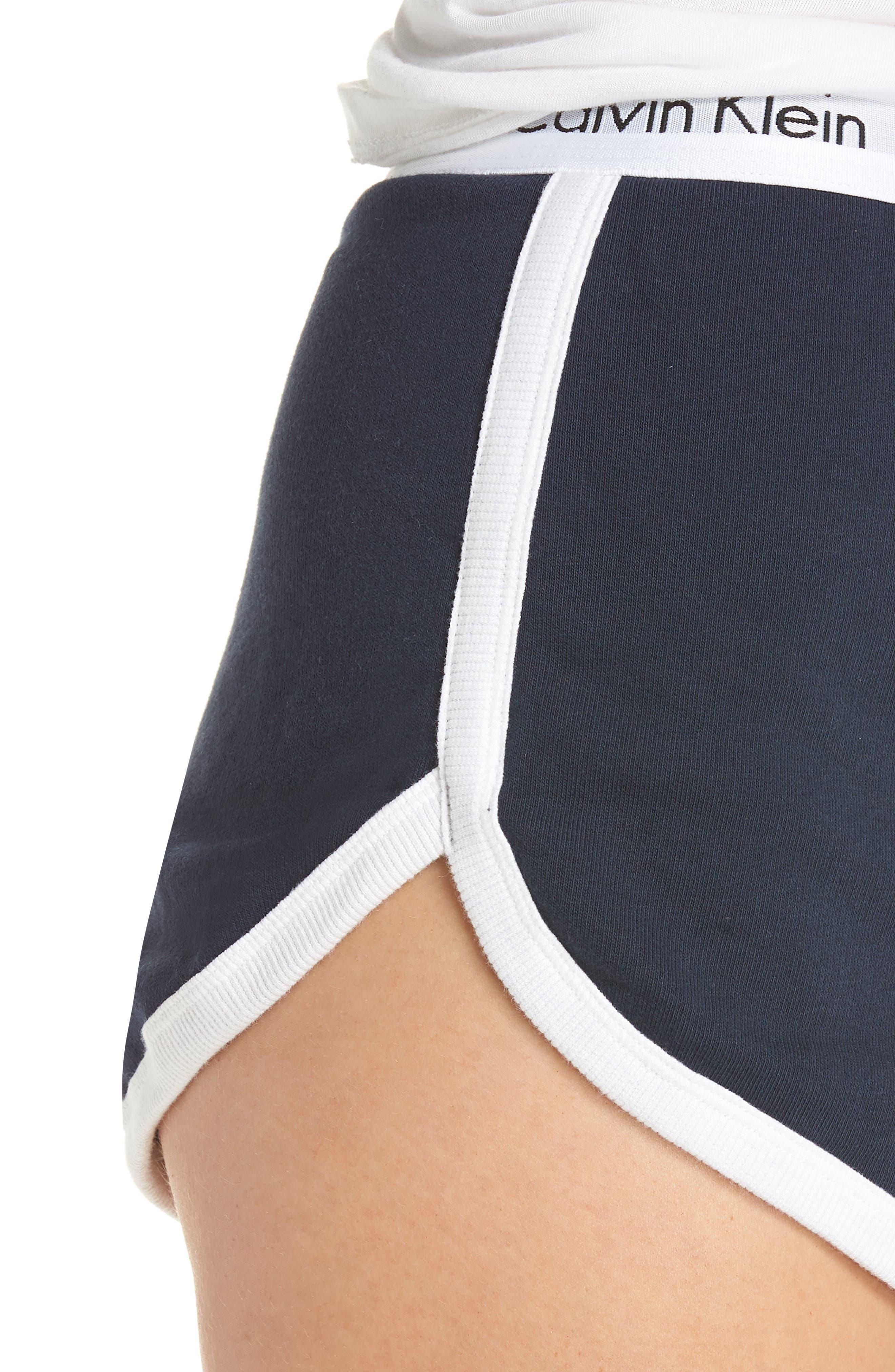 Sleep Shorts,                             Alternate thumbnail 4, color,                             SHORELINE
