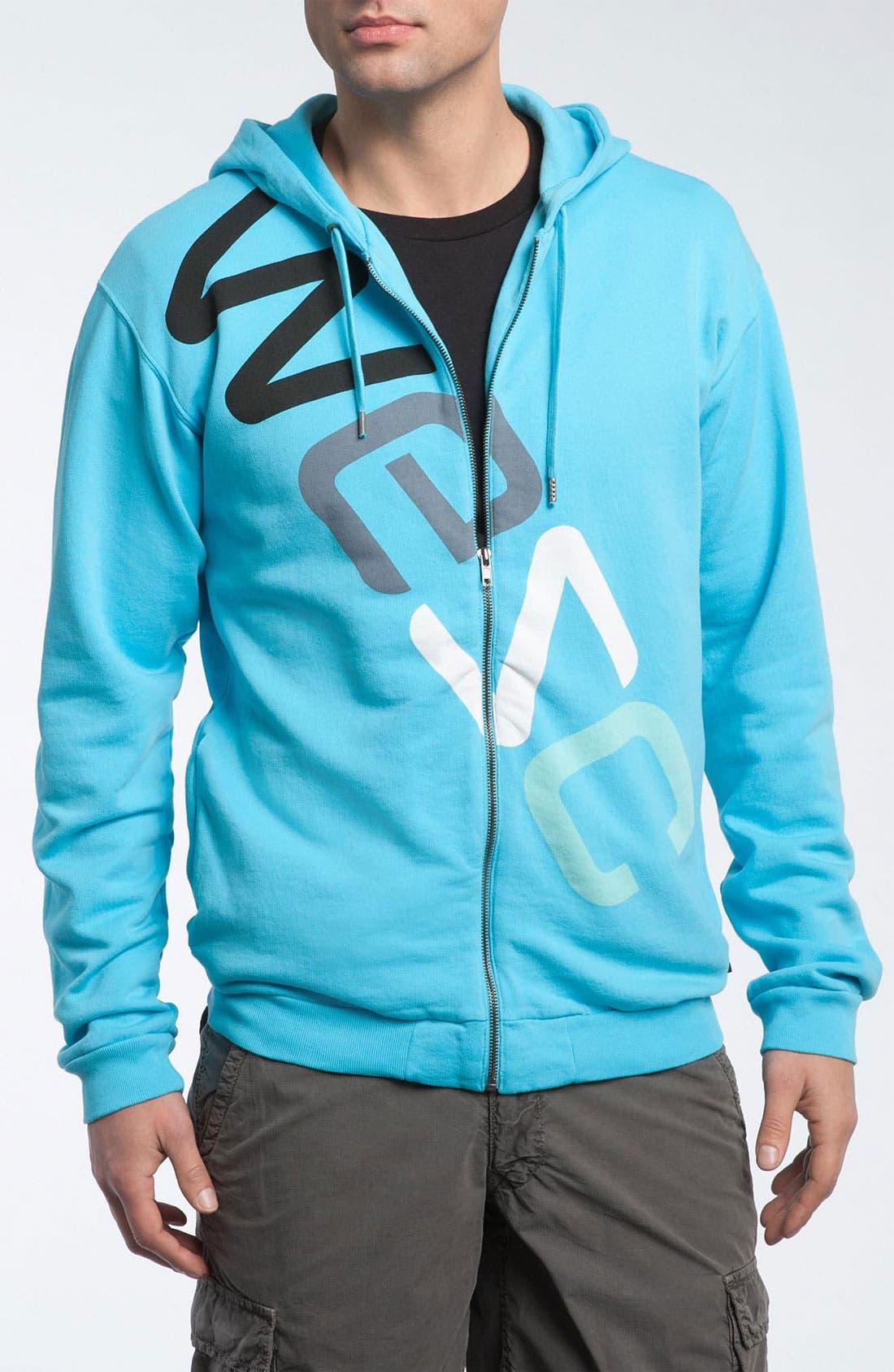 WESC Zip Hoodie, Main, color, 412