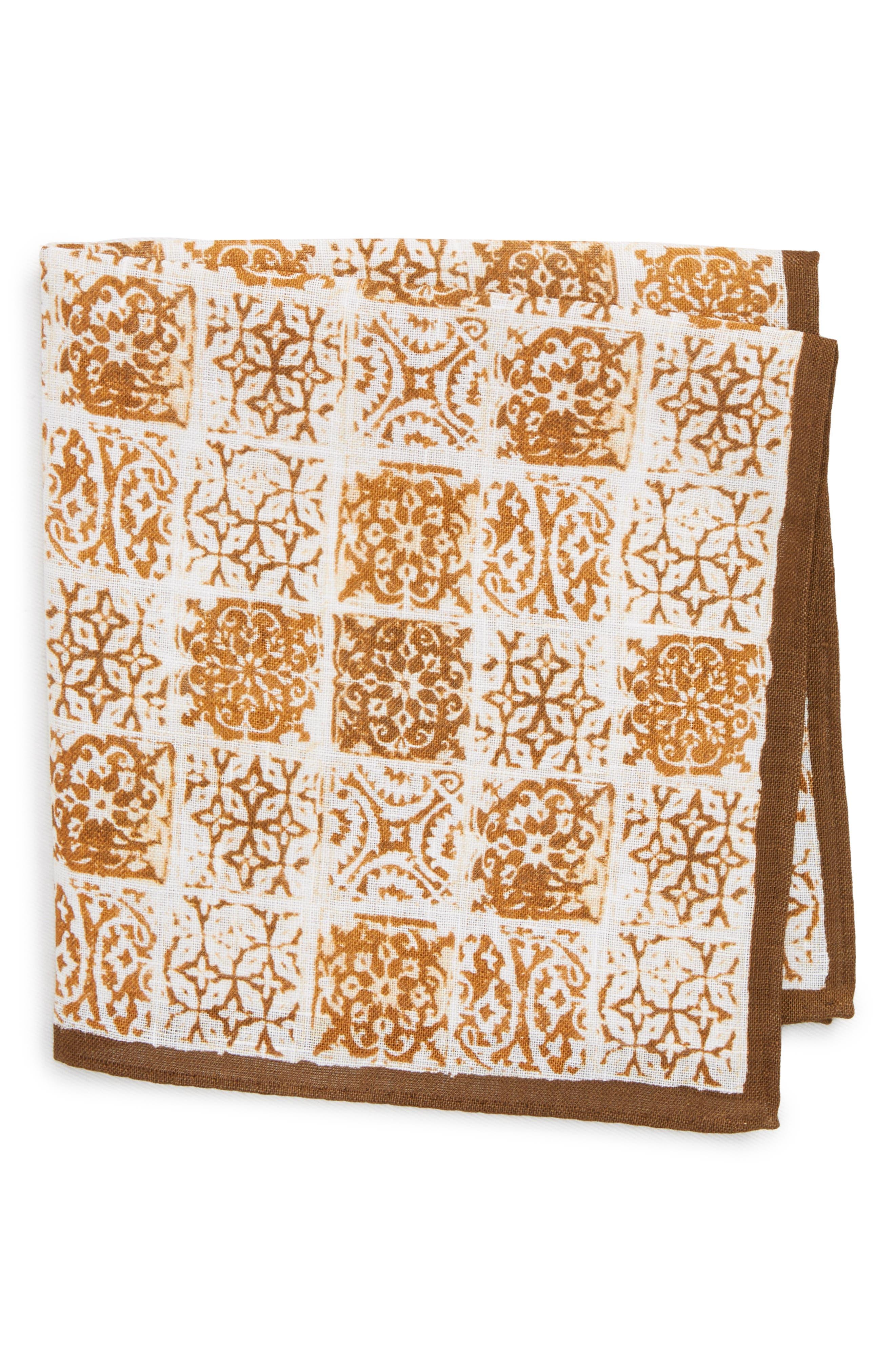 Linen Pocket Square,                         Main,                         color, 213