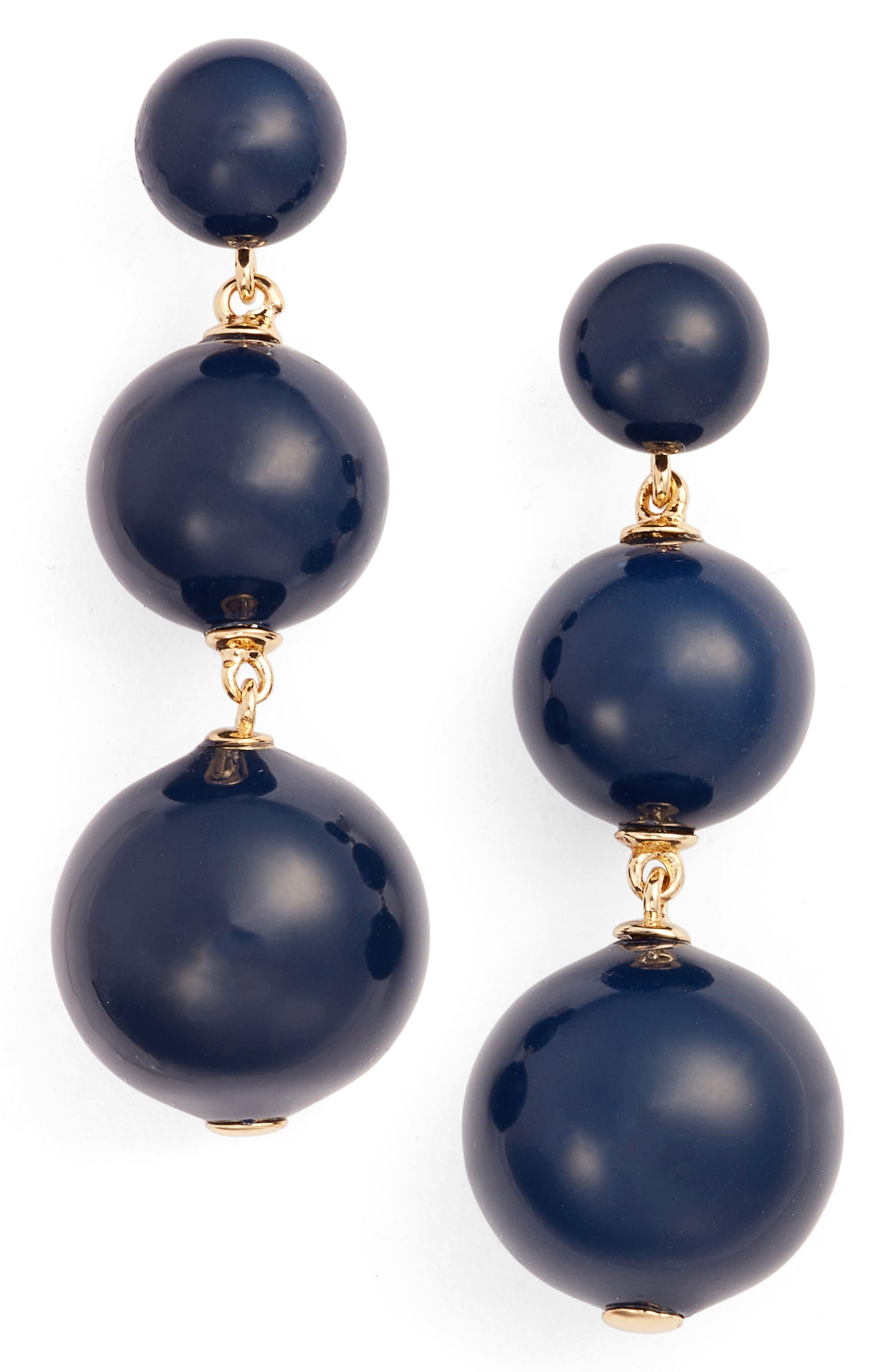 golden girl bauble drop earrings,                             Main thumbnail 5, color,