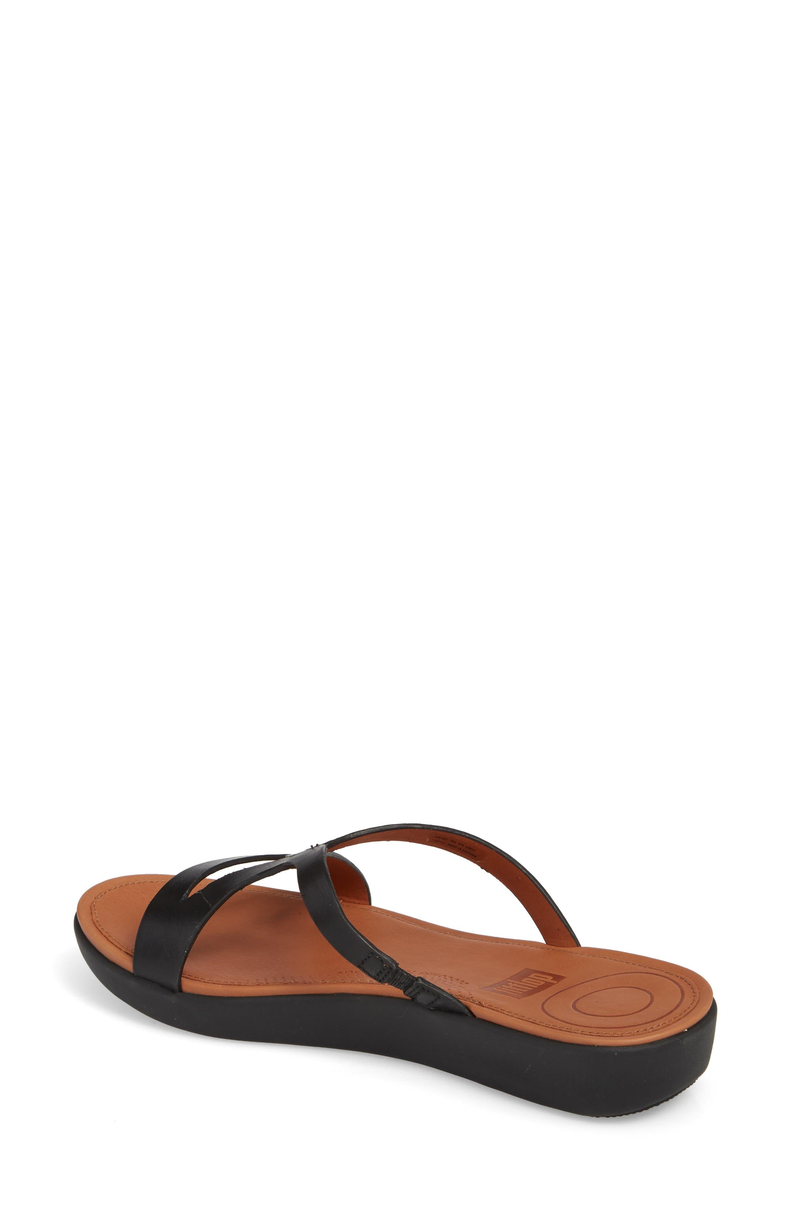 FITFLOP,                             Strata Slide Sandals,                             Alternate thumbnail 2, color,                             001