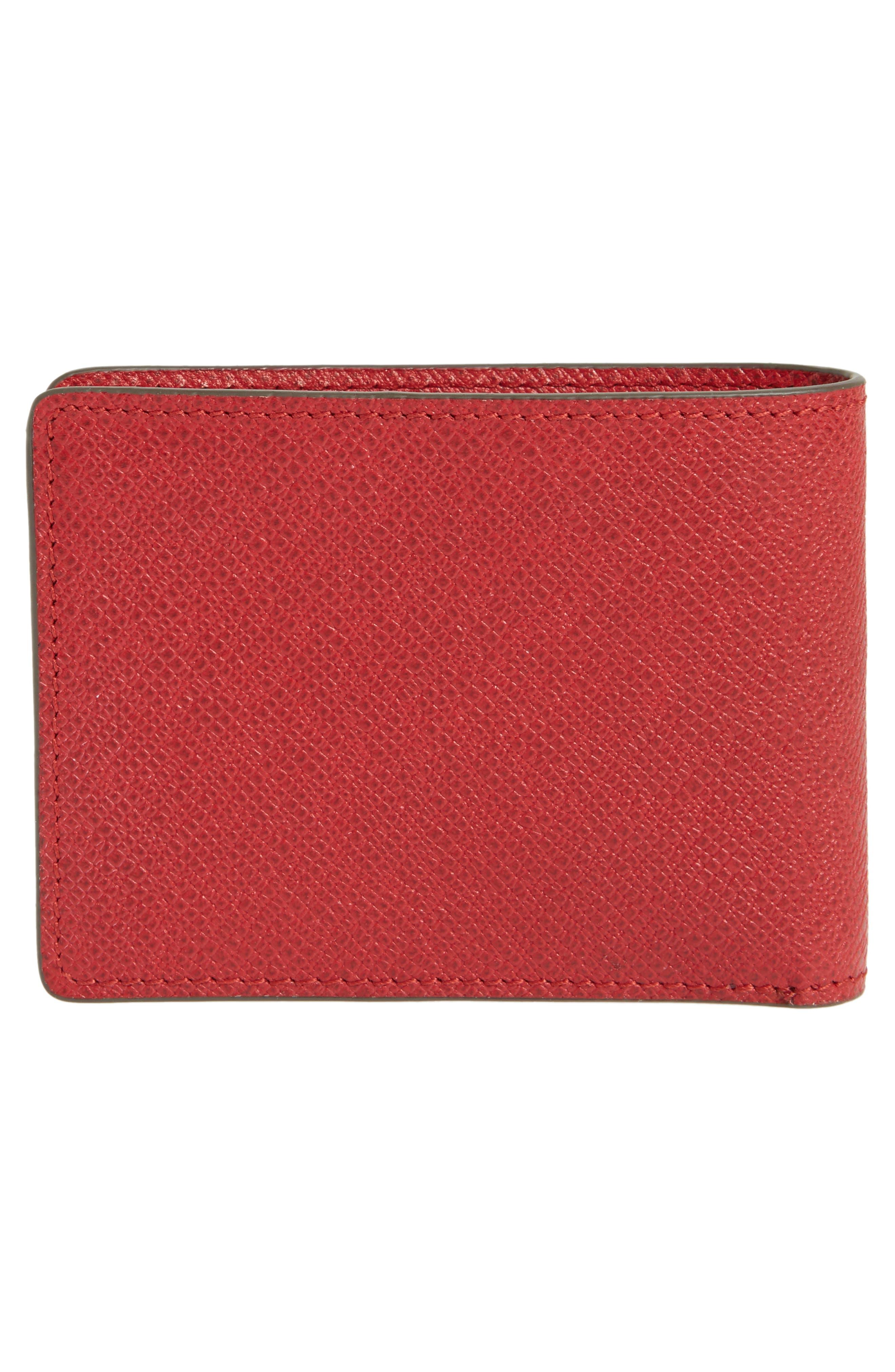 'Signature' Bifold Wallet,                             Alternate thumbnail 9, color,