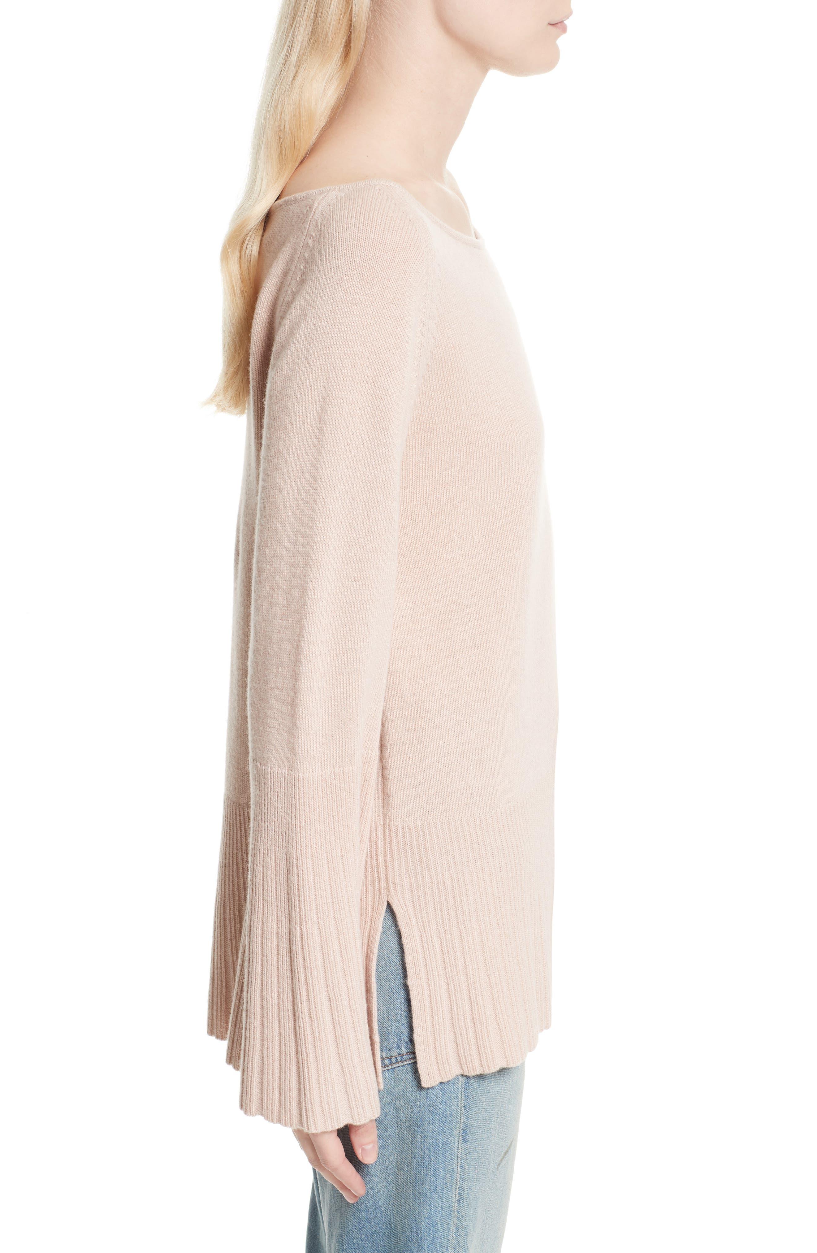 Clarette Bell Sleeve Sweater,                             Alternate thumbnail 3, color,                             650