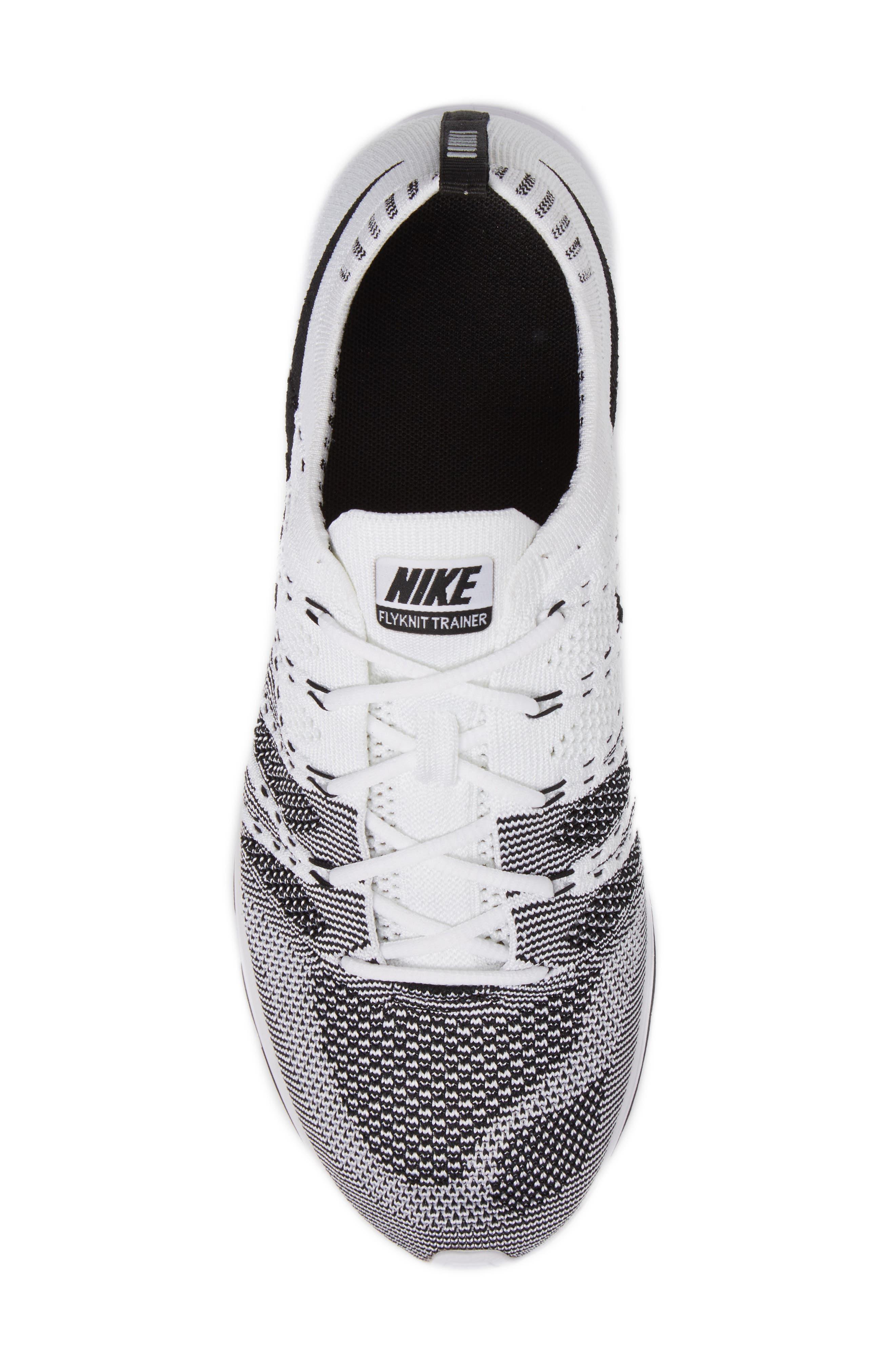 NikeLab Flyknit Trainer Sneaker,                             Alternate thumbnail 5, color,                             100