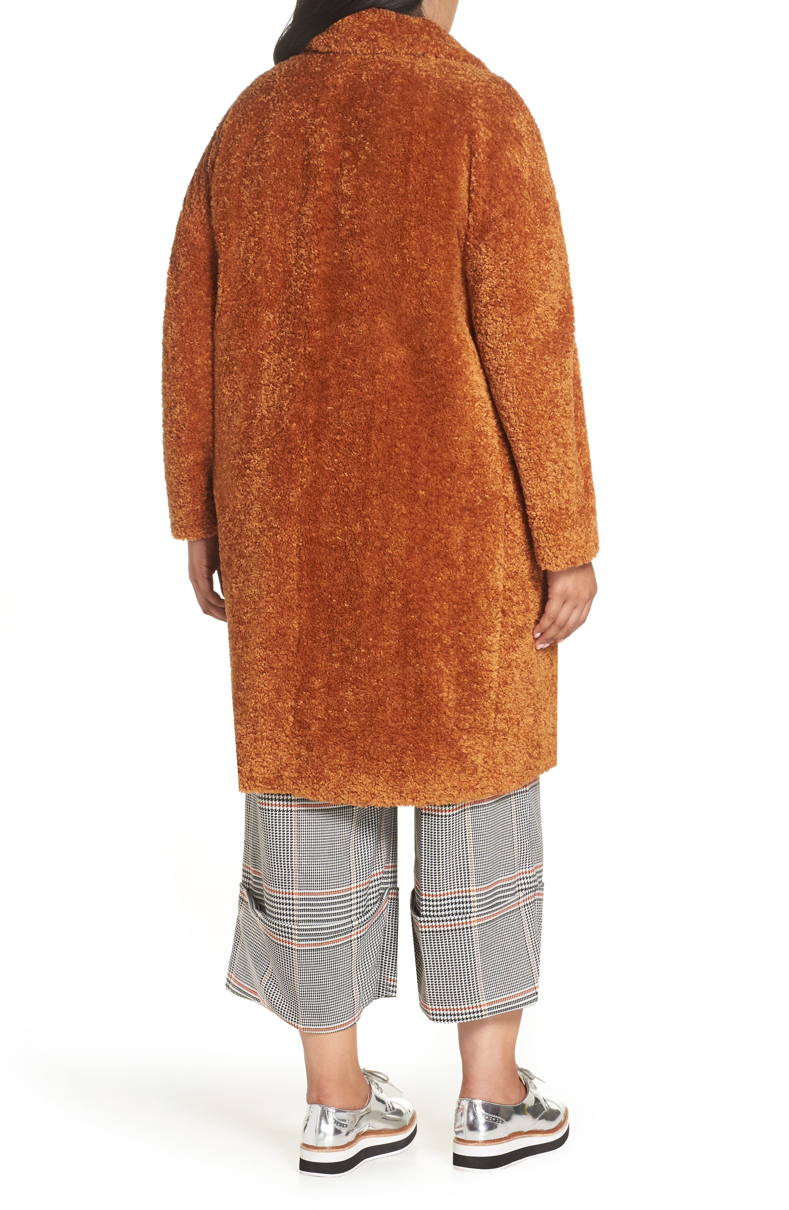 x Atlantic-Pacific Faux Fur Coat,                             Alternate thumbnail 2, color,                             219