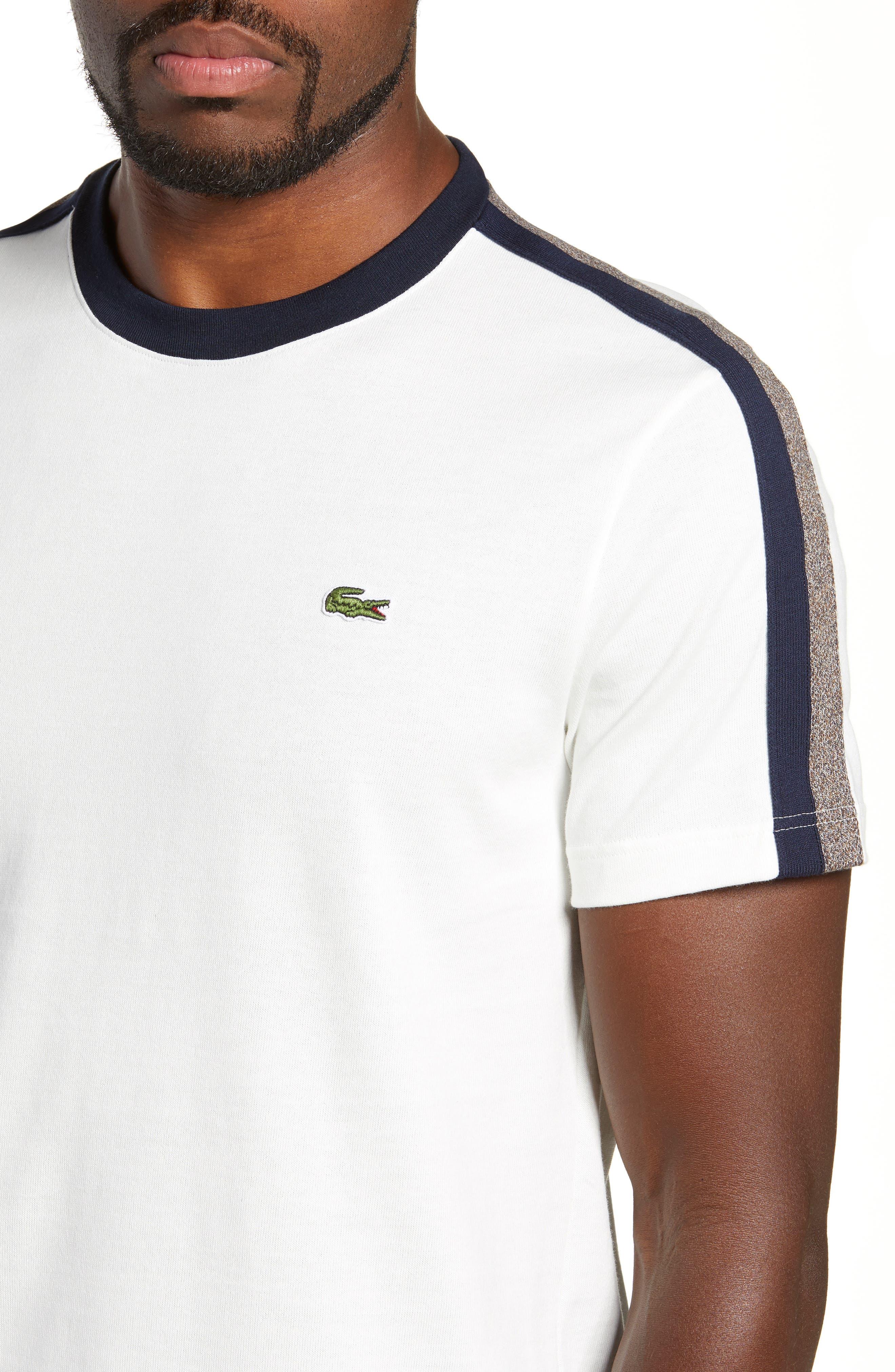 Regular Fit Contrast Jersey T-Shirt,                             Alternate thumbnail 4, color,                             104