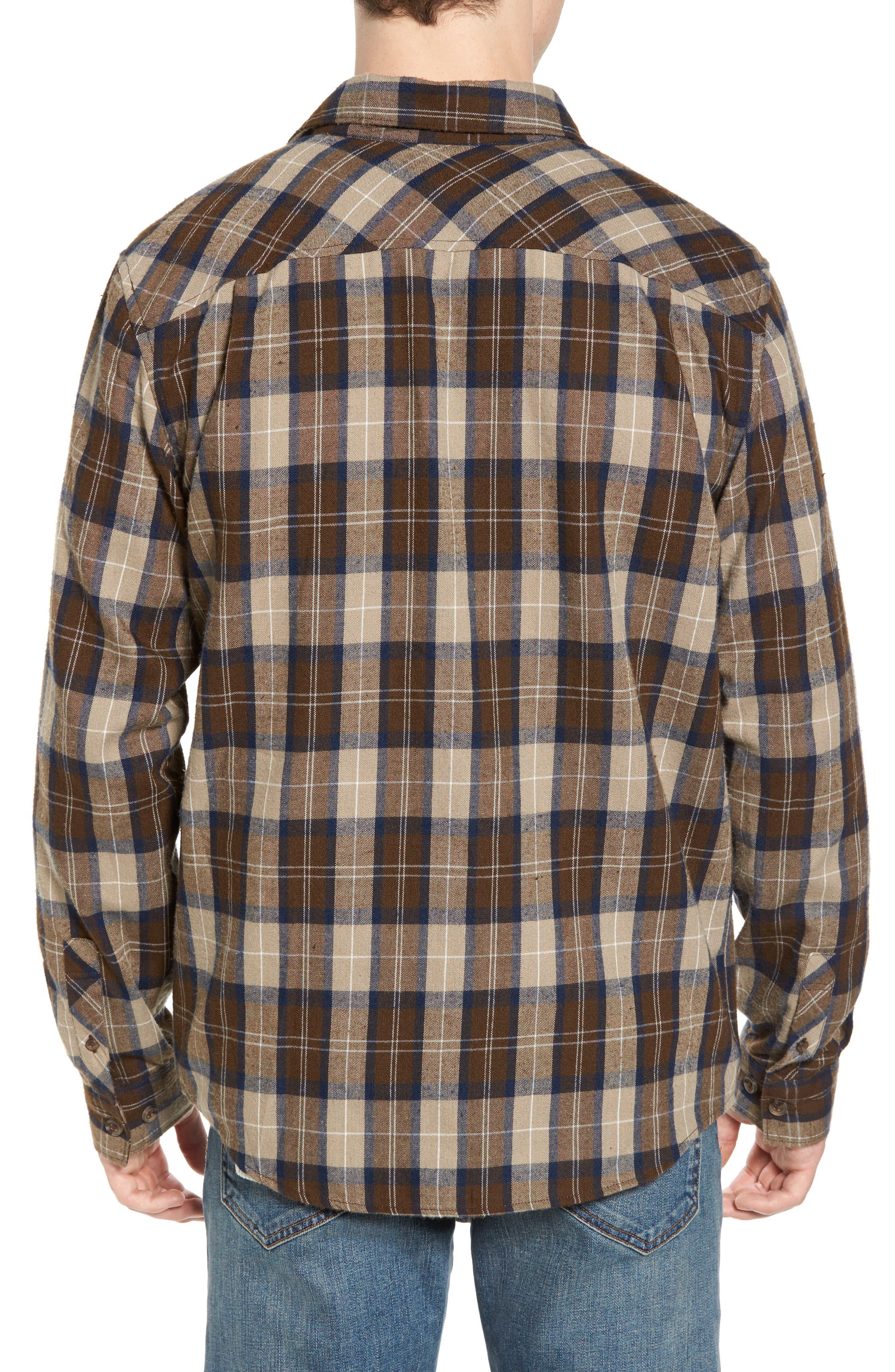 Bone Flannel Shirt,                             Alternate thumbnail 2, color,                             250