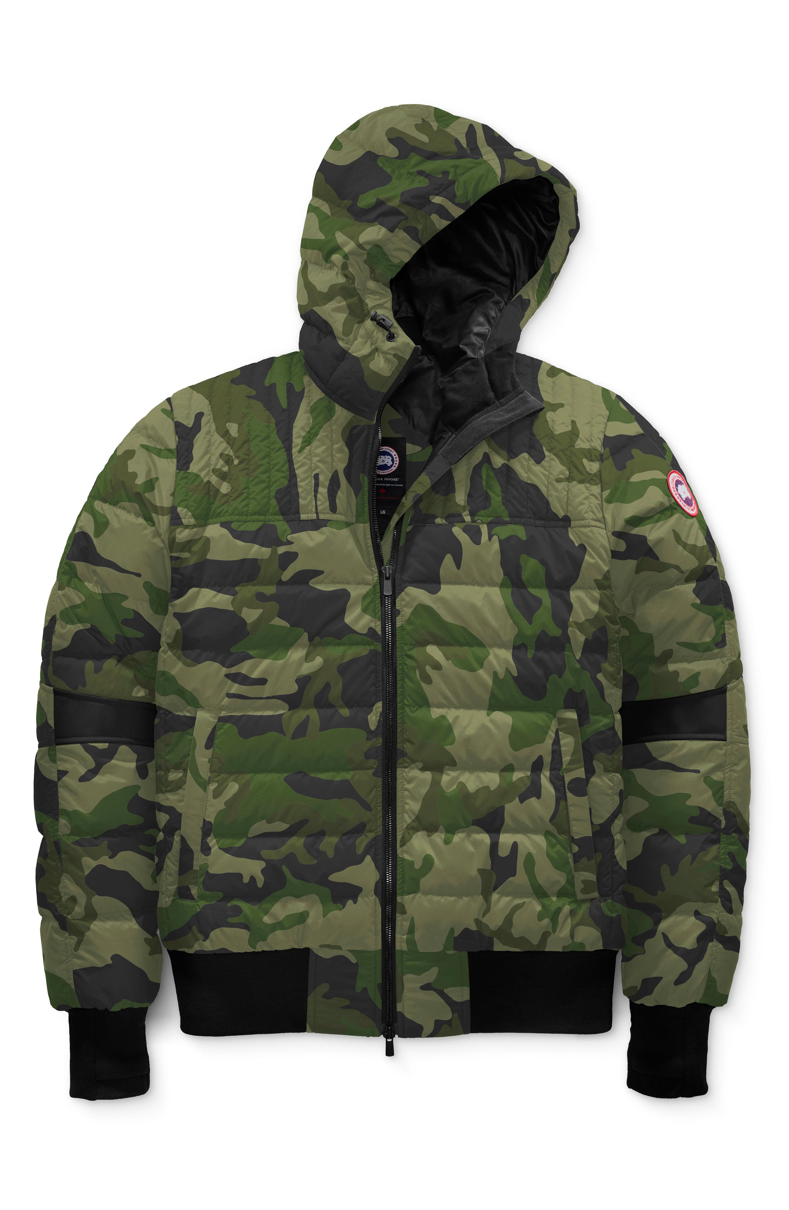 Canada Goose Cabri Hooded Packable Down Jacket, Green
