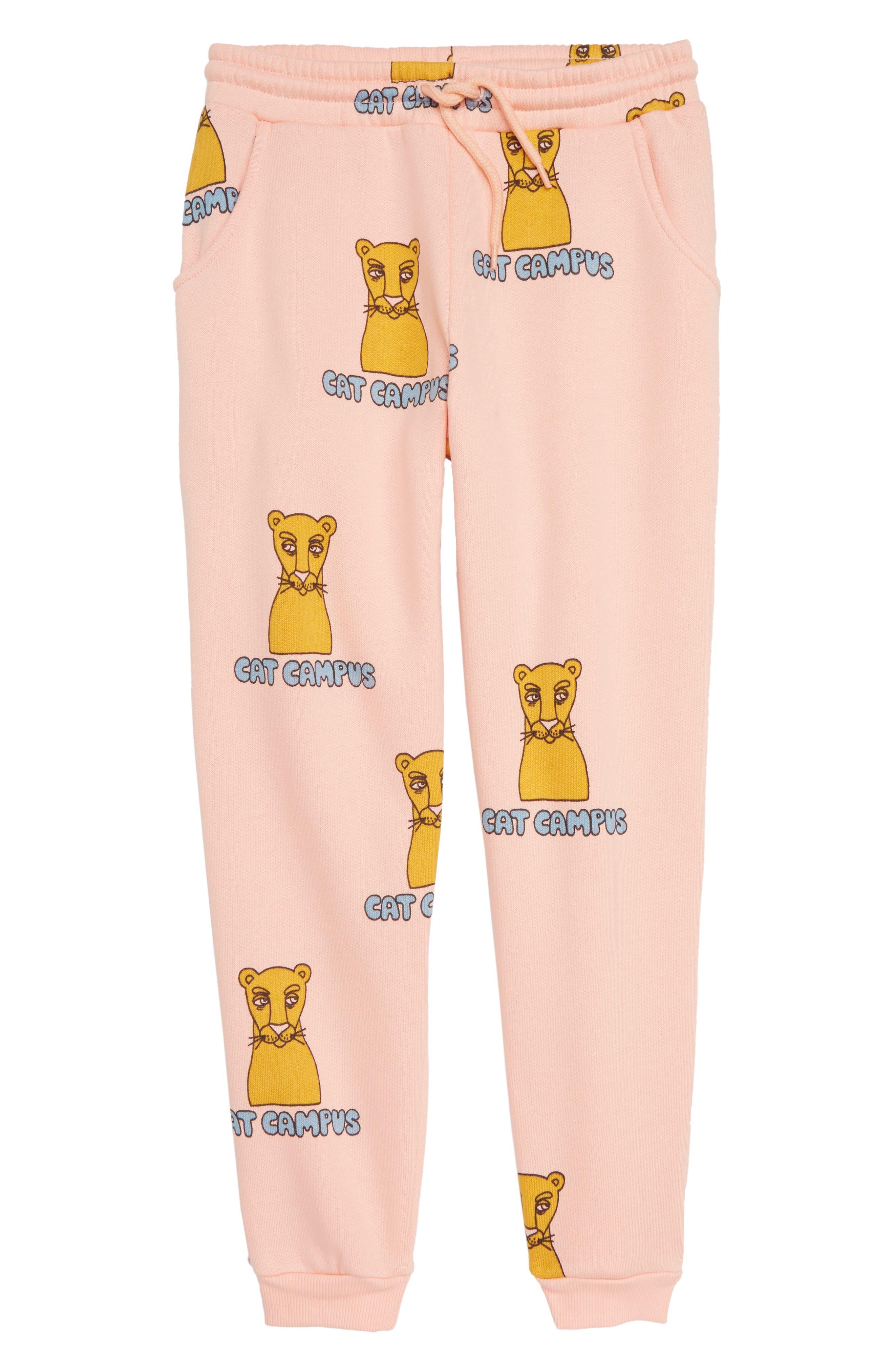 Cat Campus Organic Cotton Sweatpants,                             Main thumbnail 1, color,                             650