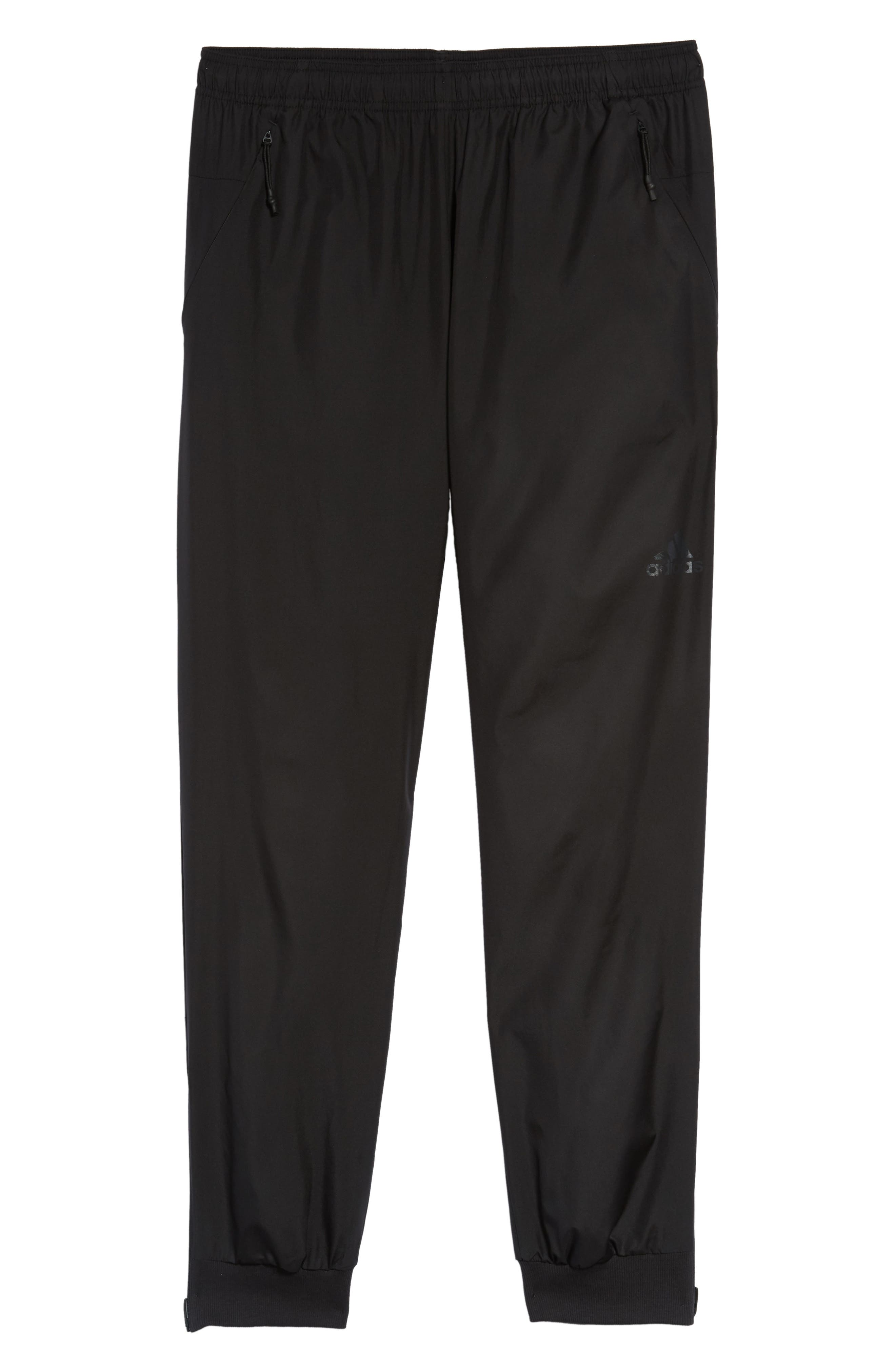 Slim Fit Sweatpants,                             Alternate thumbnail 6, color,                             BLACK