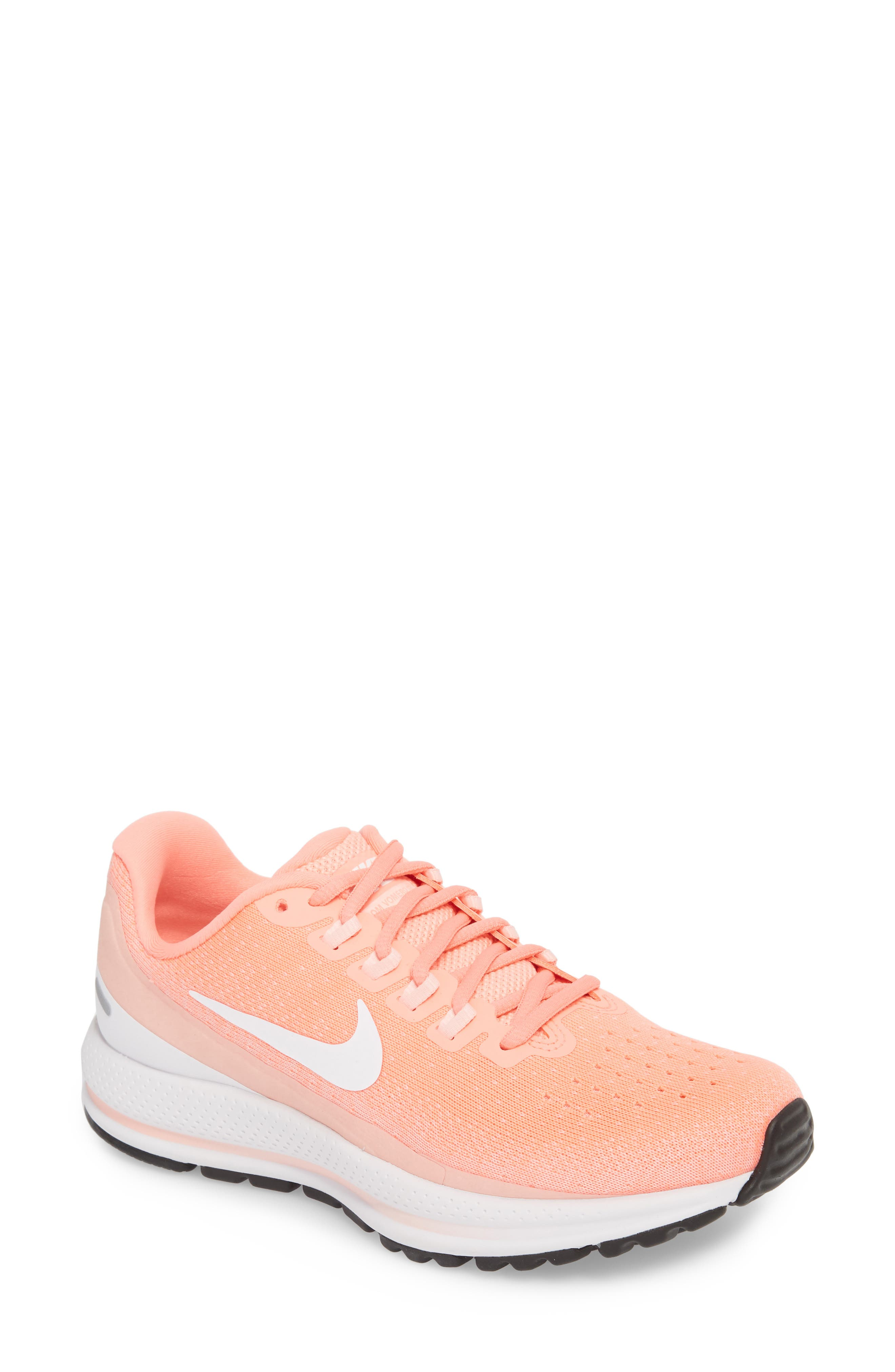 Air Zoom Vomero 13 Running Shoe,                             Main thumbnail 1, color,                             LIGHT ATOMIC PINK/ WHITE