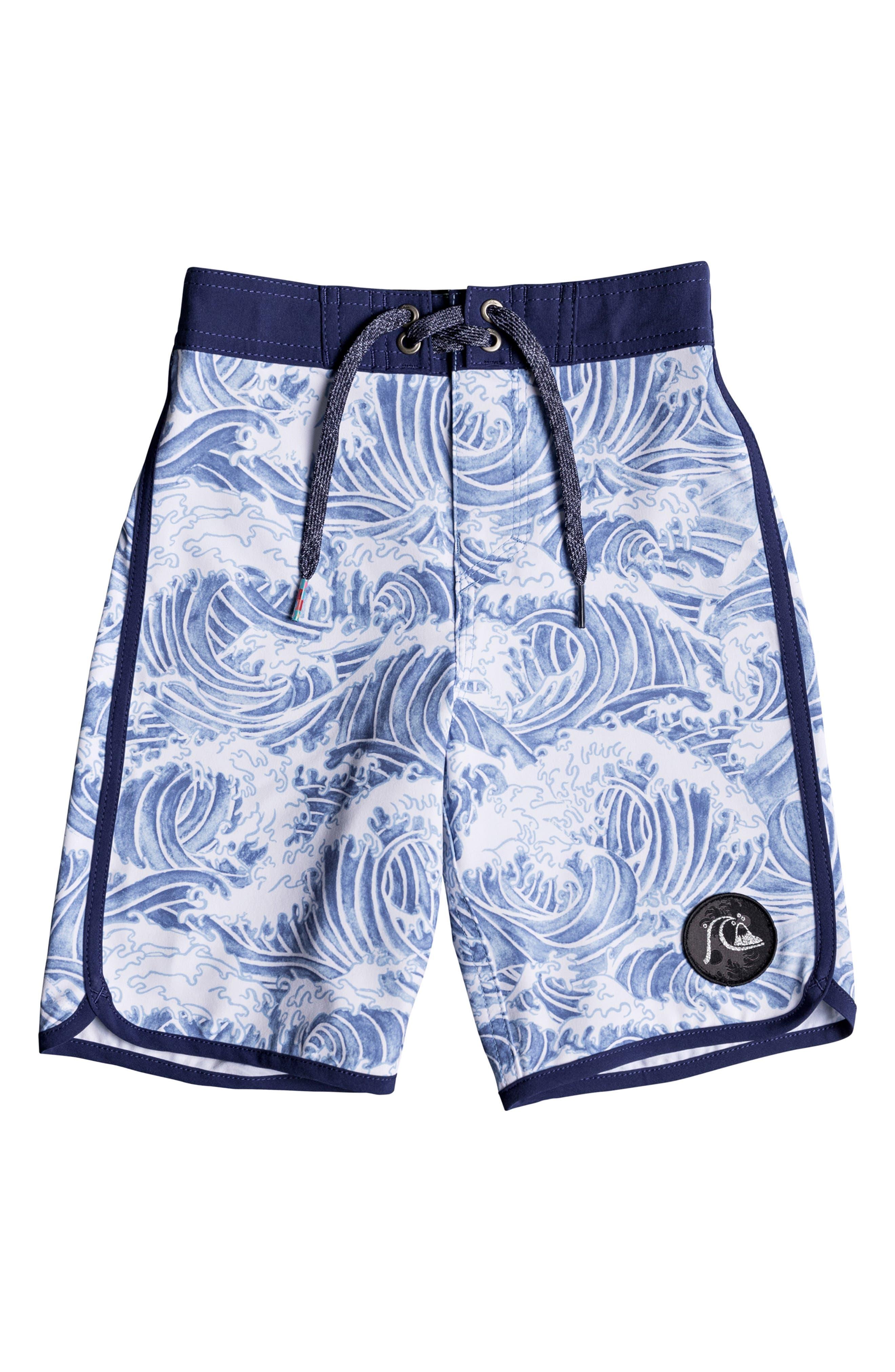 Toddler Boys Quiksilver Highline Legend Board Shorts Size 3T  Blue