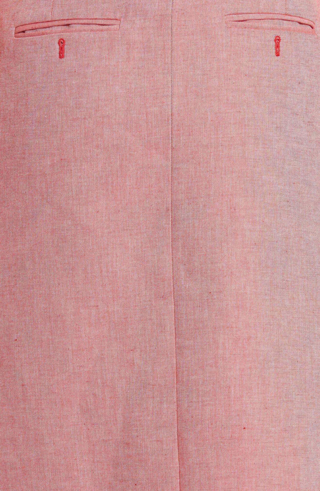 Robe Genou Dress,                             Alternate thumbnail 5, color,                             650