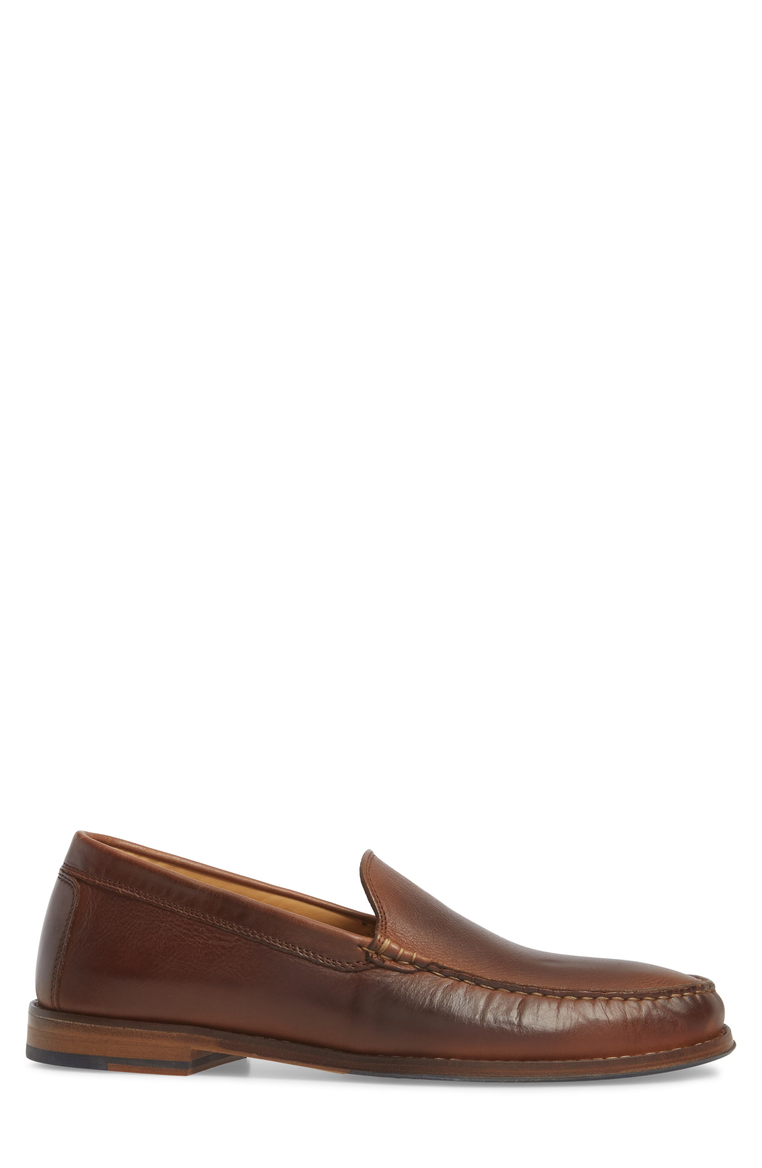 Caldwells Loafer,                             Alternate thumbnail 3, color,                             LIGHT BROWN DISTRESSED LEATHER