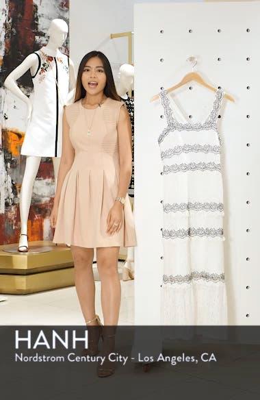 Frances Embroidered Lace Midi Dress, sales video thumbnail