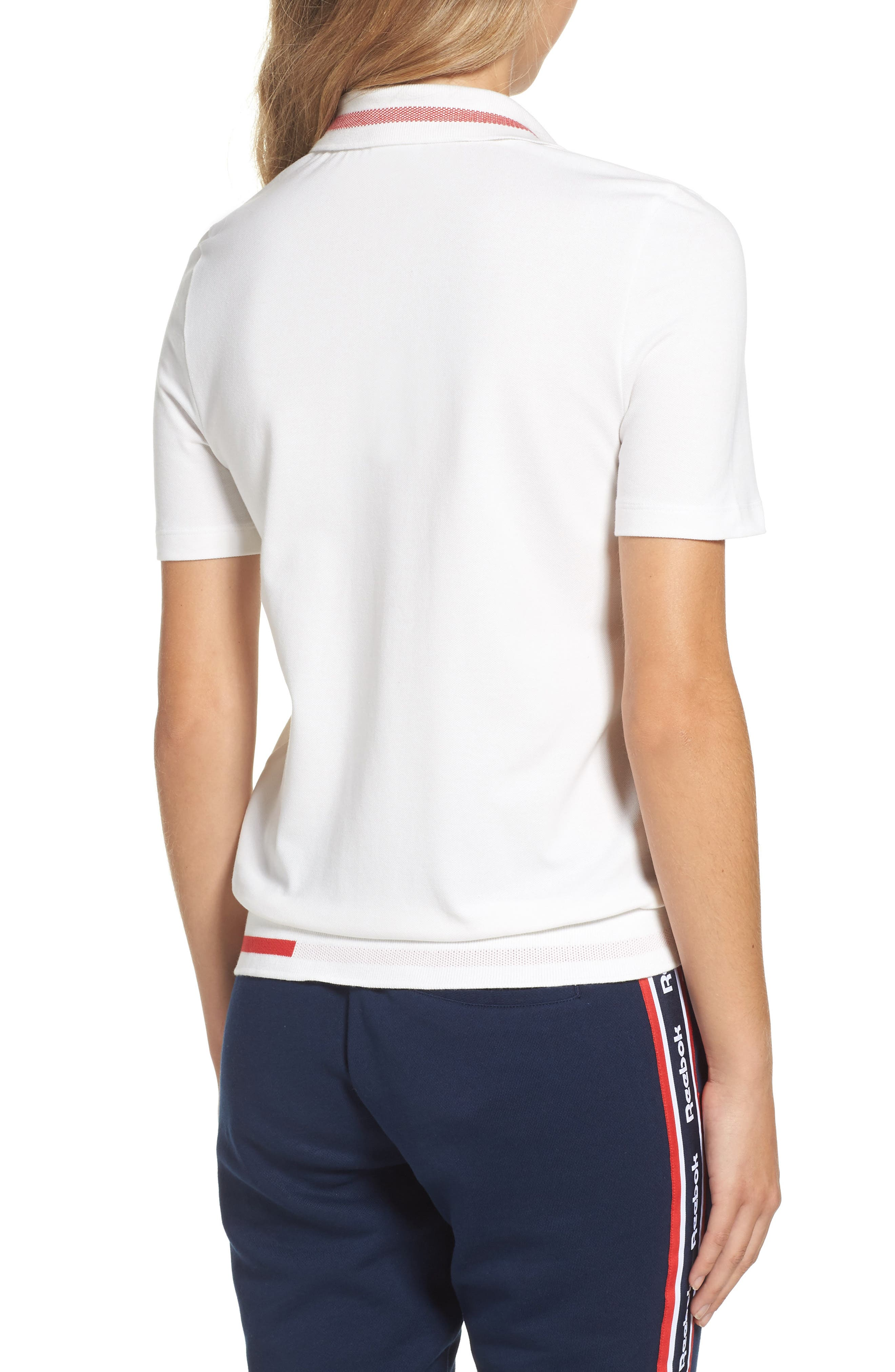 Piqué Polo Shirt,                             Alternate thumbnail 2, color,                             100
