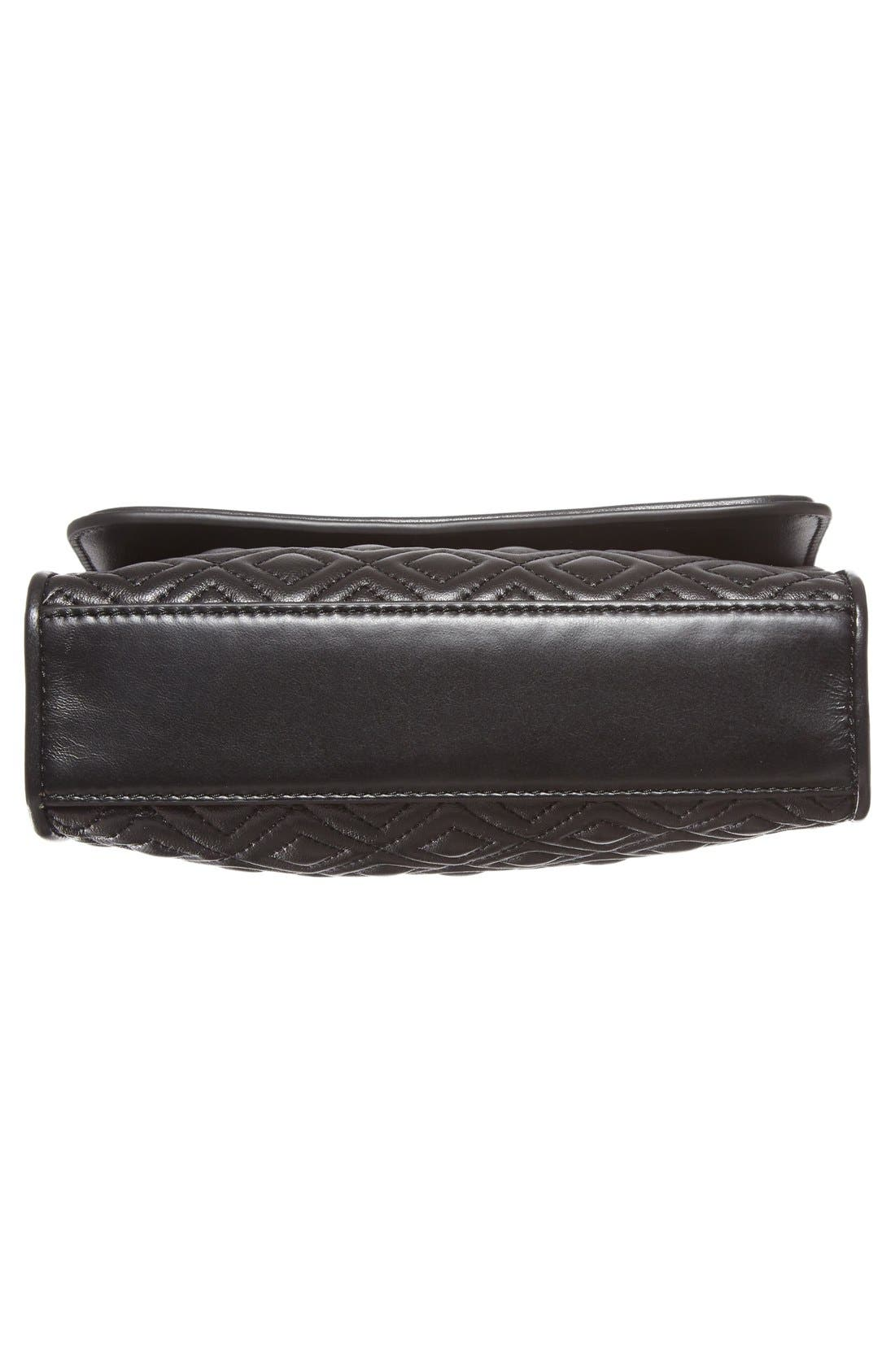 'Small Fleming' Quilted Leather Shoulder Bag,                             Alternate thumbnail 21, color,