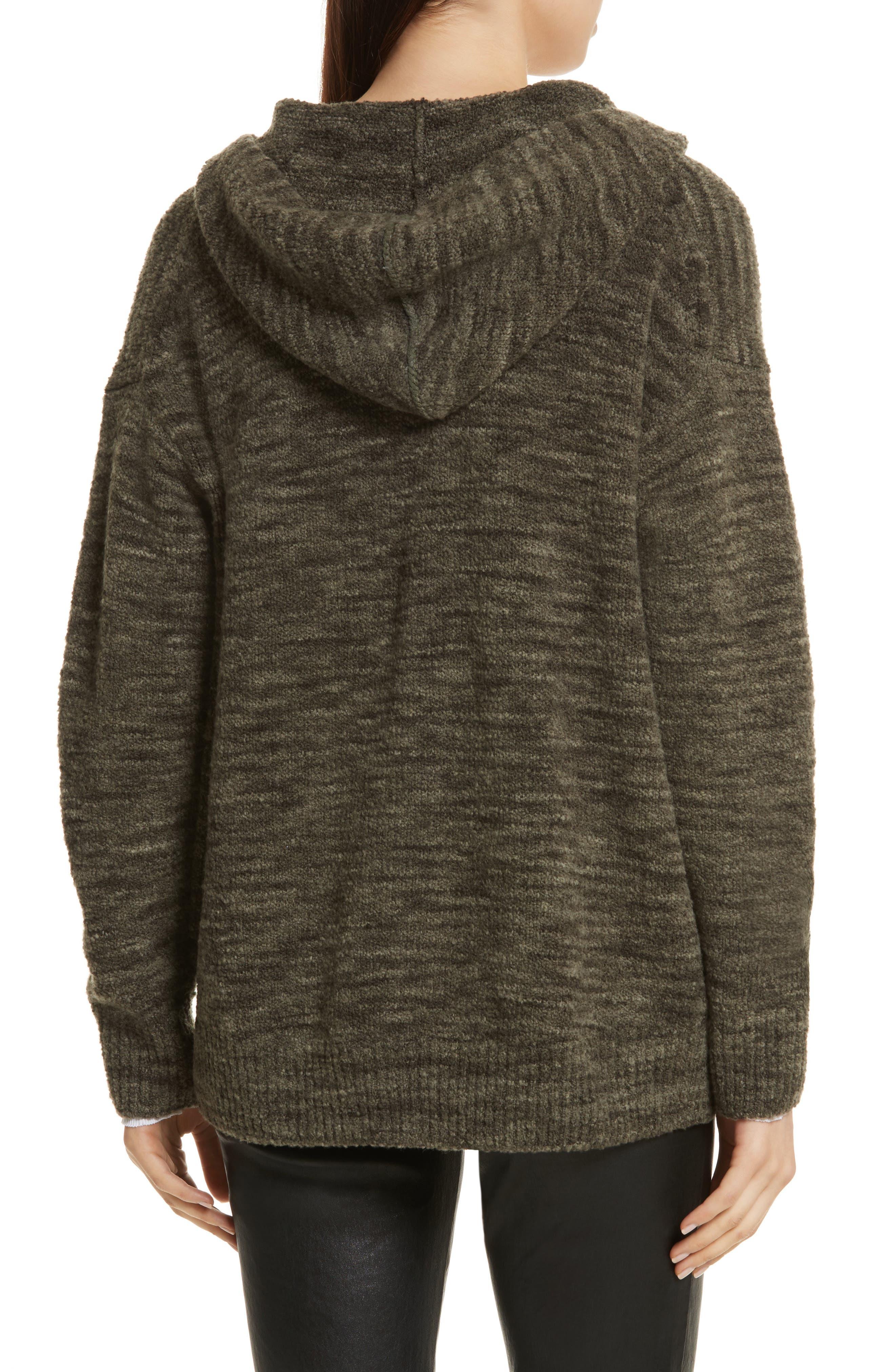 Space Dye Hoodie Sweater,                             Alternate thumbnail 2, color,                             343