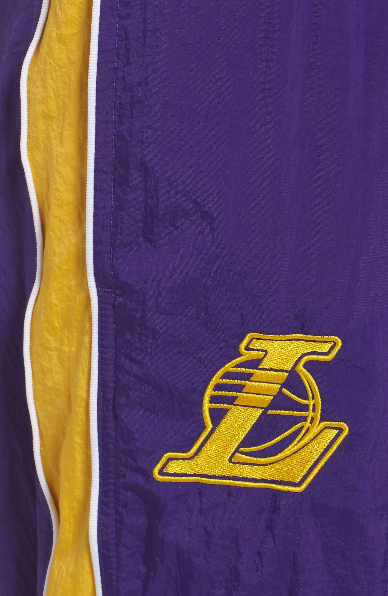 LA Lakers Tracksuit Pants,                             Alternate thumbnail 4, color,                             504