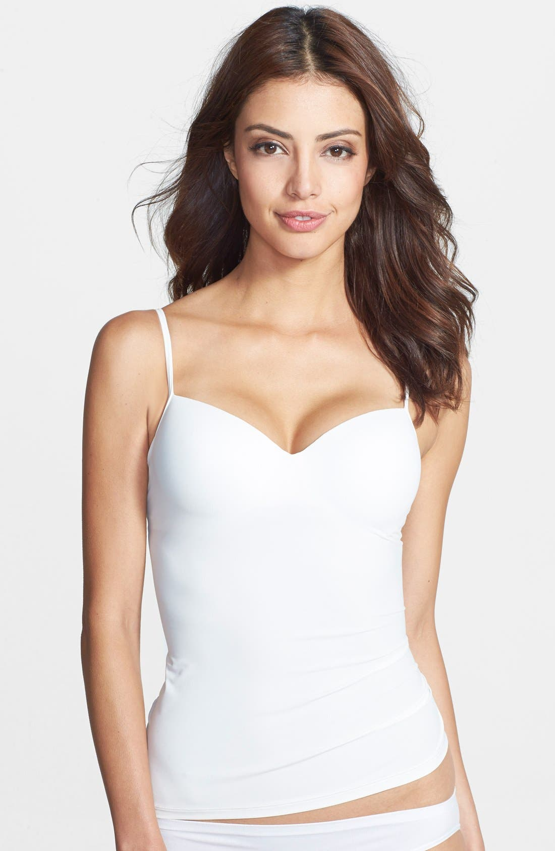 'Allure' Built-In Bra Camisole,                             Main thumbnail 4, color,