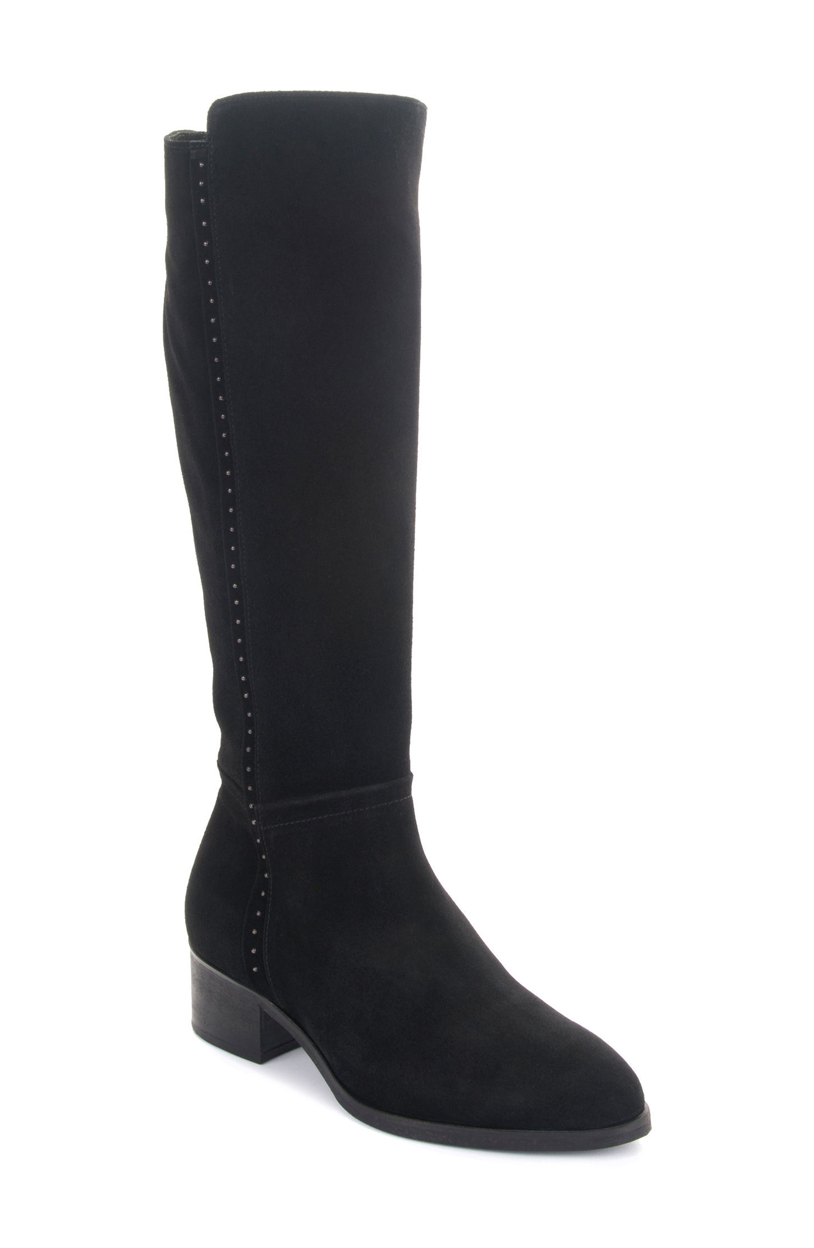 Fiamma Water Resistant Knee High Boot,                             Main thumbnail 1, color,                             010
