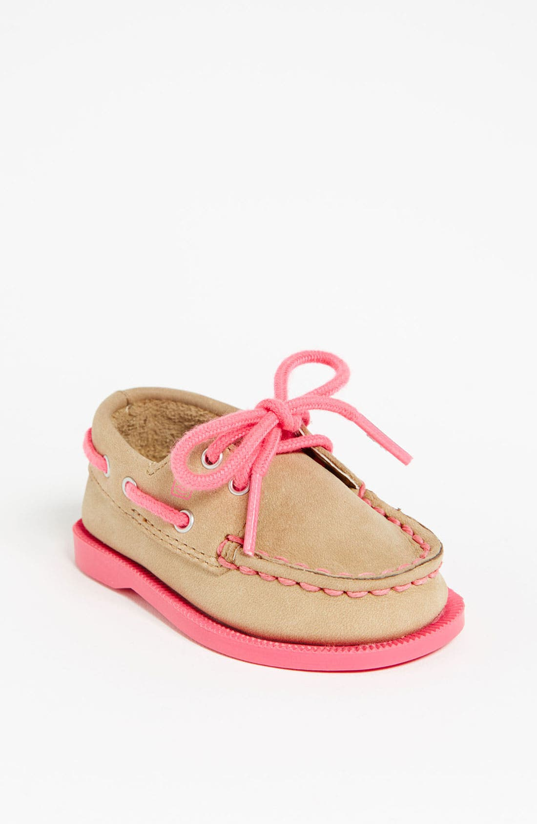 Sperry Top-Sider<sup>®</sup> Kids 'Authentic Original' Crib Shoe,                             Main thumbnail 1, color,