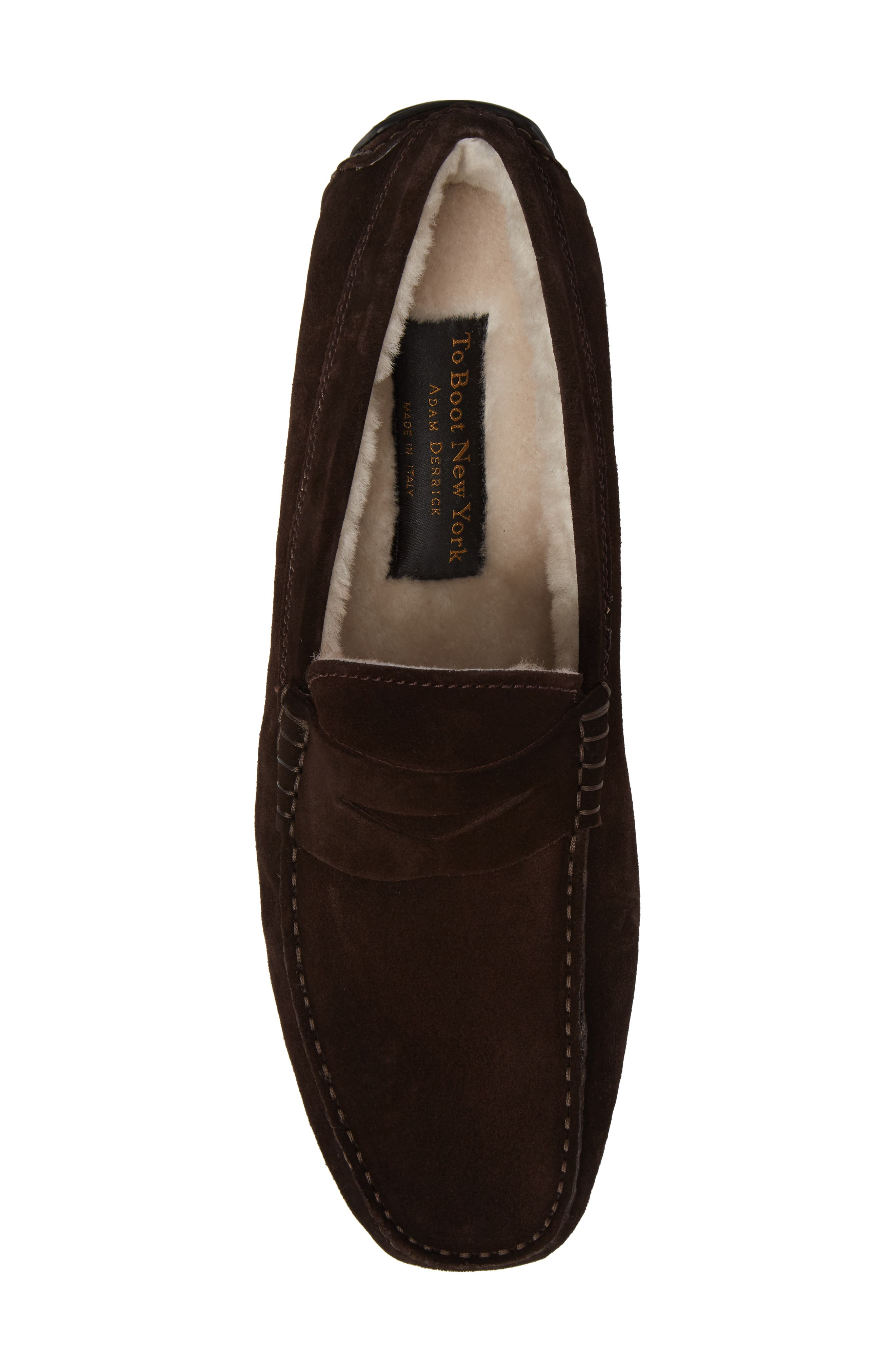 Norse Penny Loafer with Genuine Shearling,                             Alternate thumbnail 10, color,