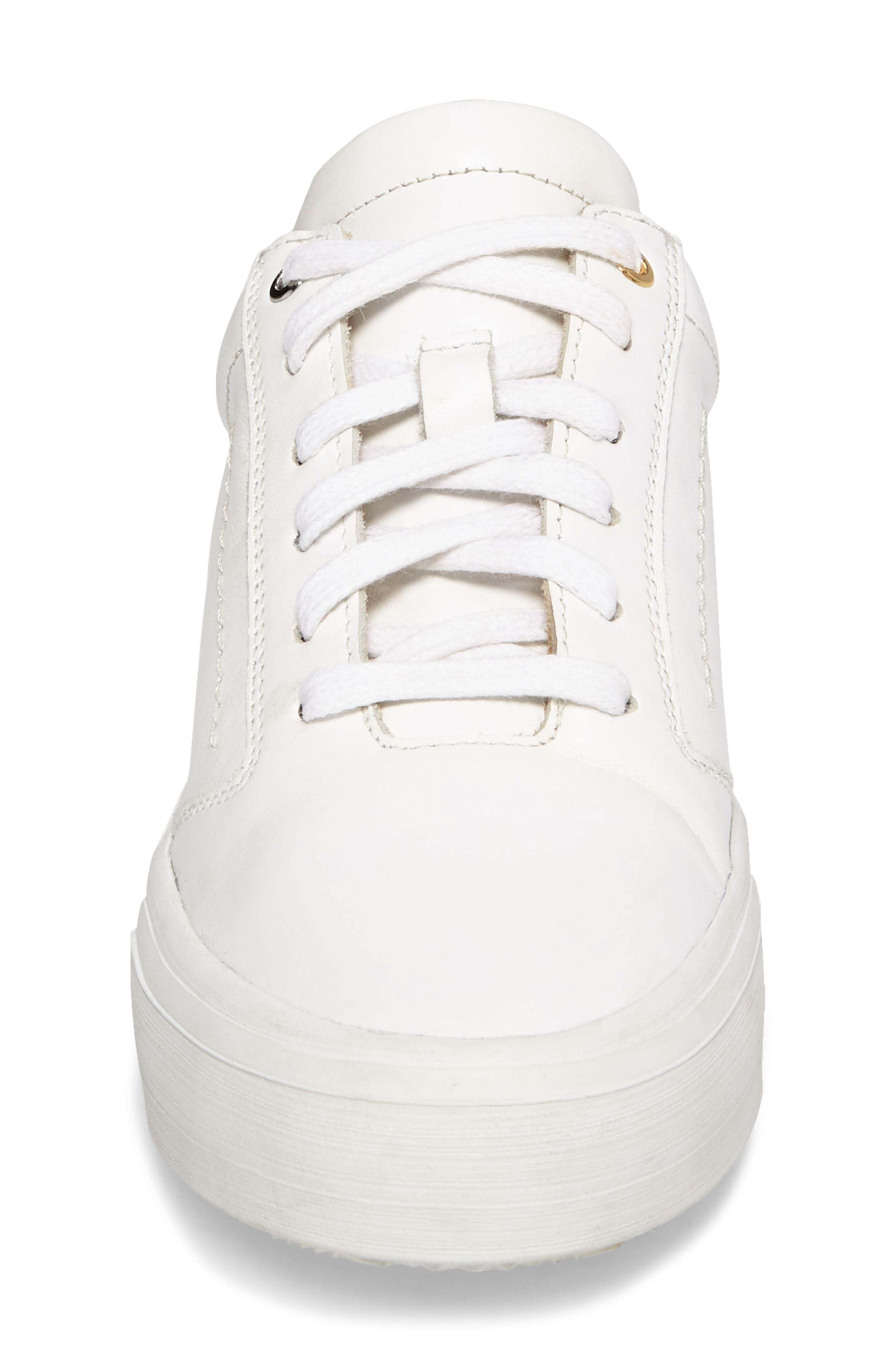 Lalibela Sneaker,                             Alternate thumbnail 4, color,                             WHITE/PATENT WHITE