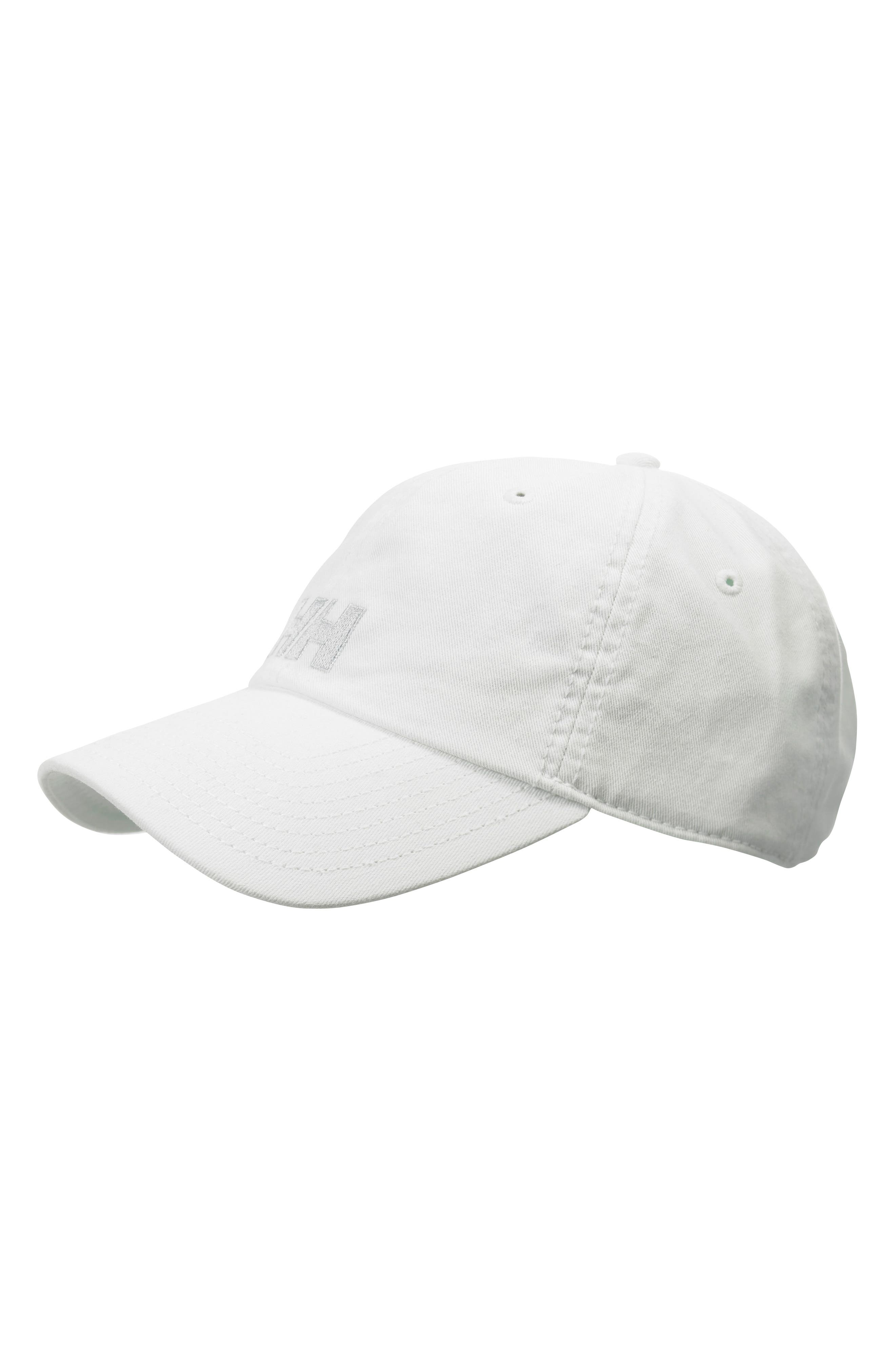 HELLY HANSEN Logo Baseball Cap - White