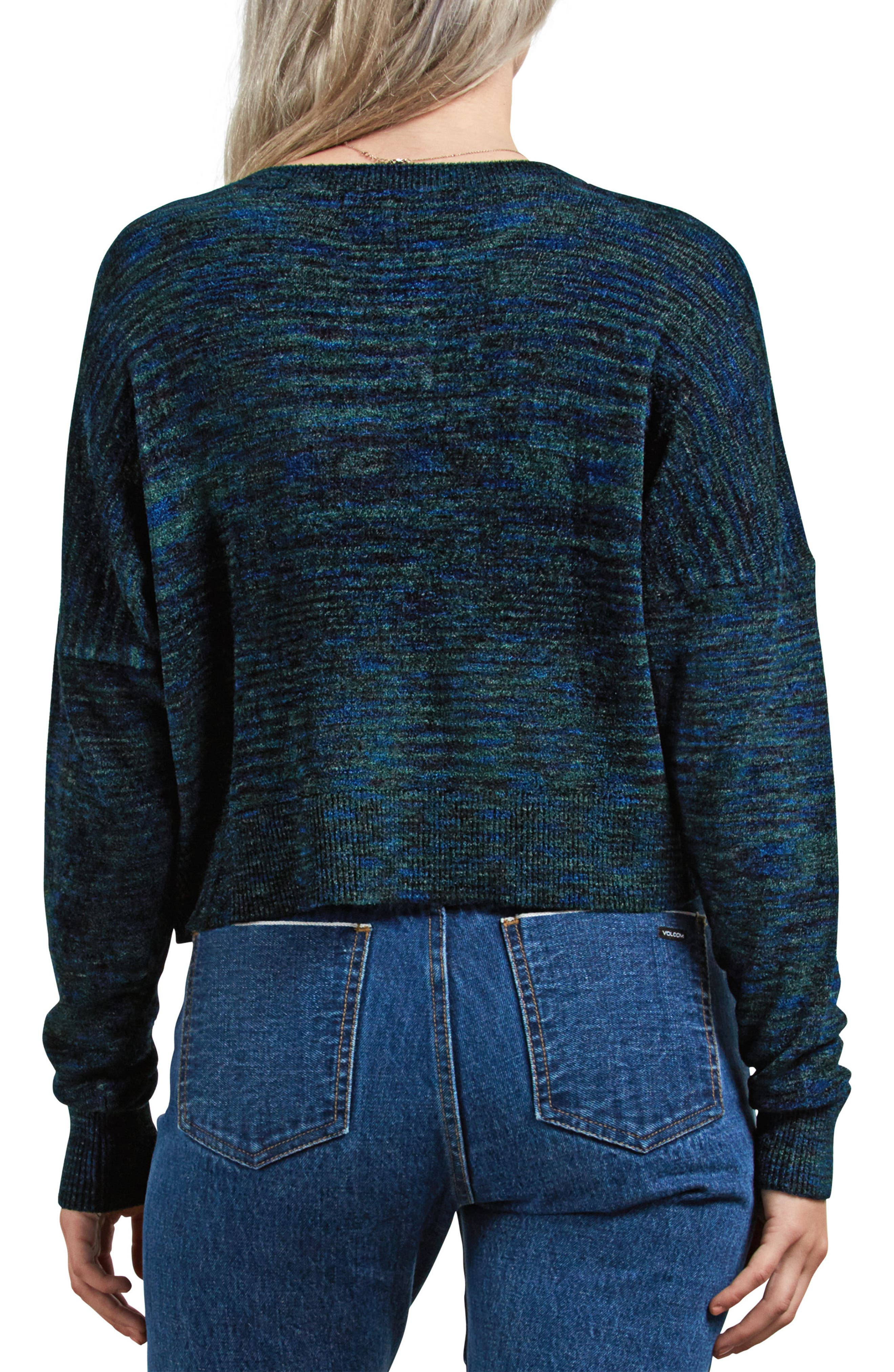 The Favorite Sweater,                             Alternate thumbnail 2, color,                             EVERGREEN
