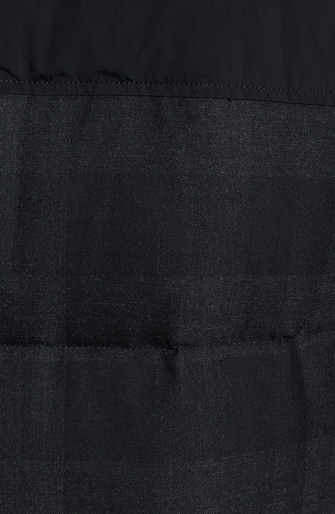 Woolrich 'Pocono' Check Print Shearling Lined Down Parka,                             Alternate thumbnail 3, color,                             003