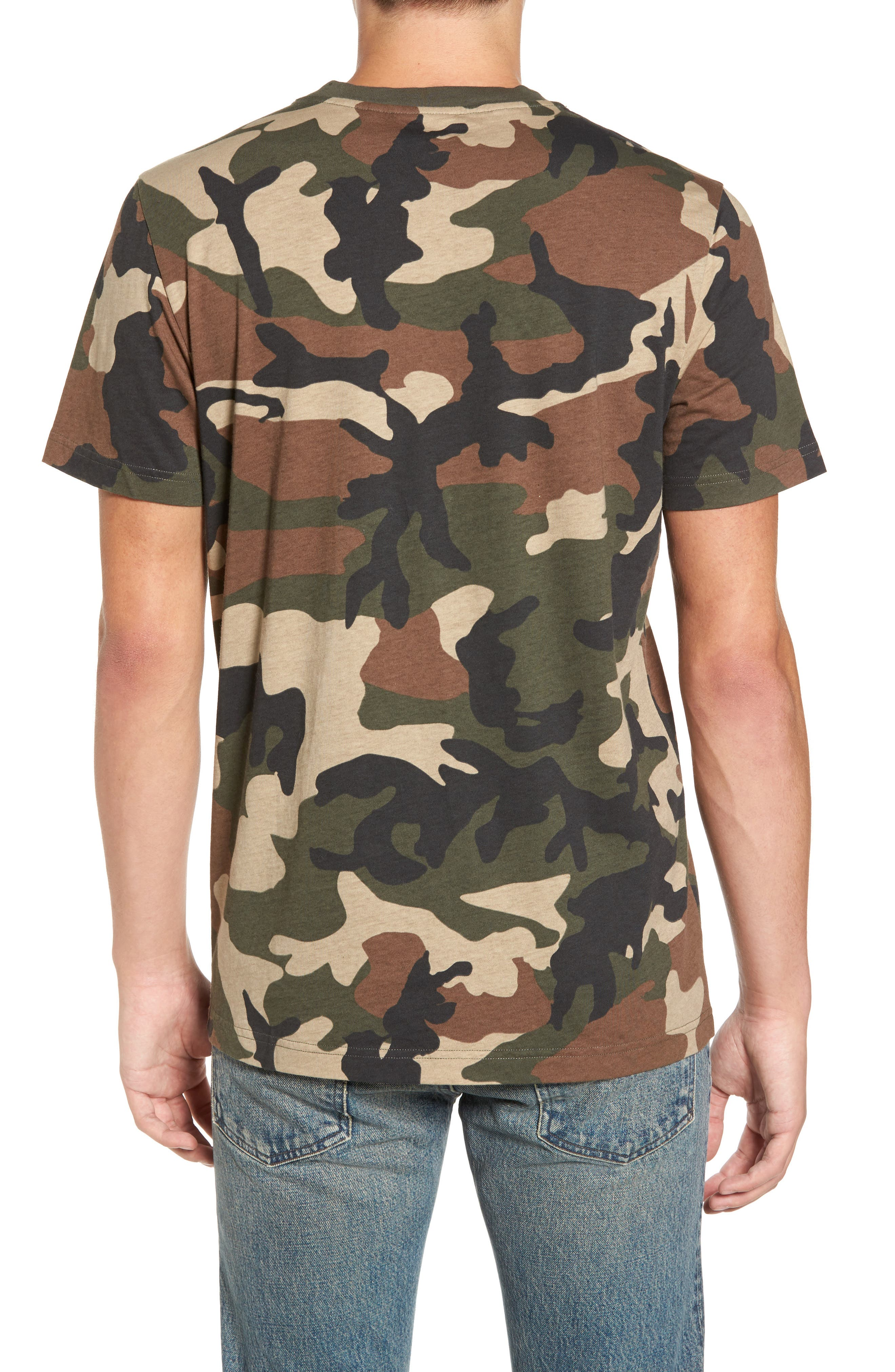 Maxwell Camo T-Shirt,                             Alternate thumbnail 2, color,                             307