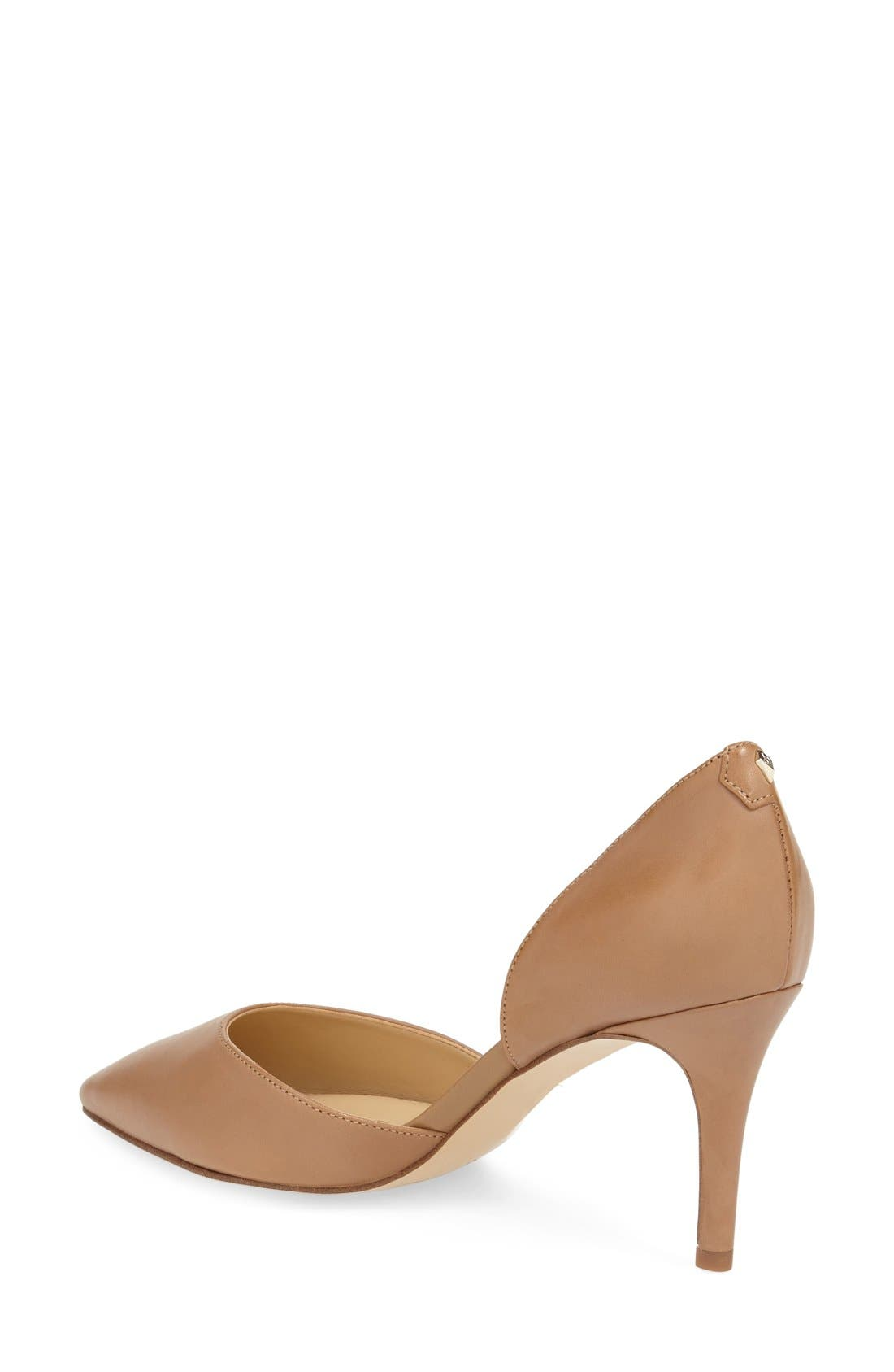 'Telsa' d'Orsay Pointy Toe Pump,                             Alternate thumbnail 43, color,