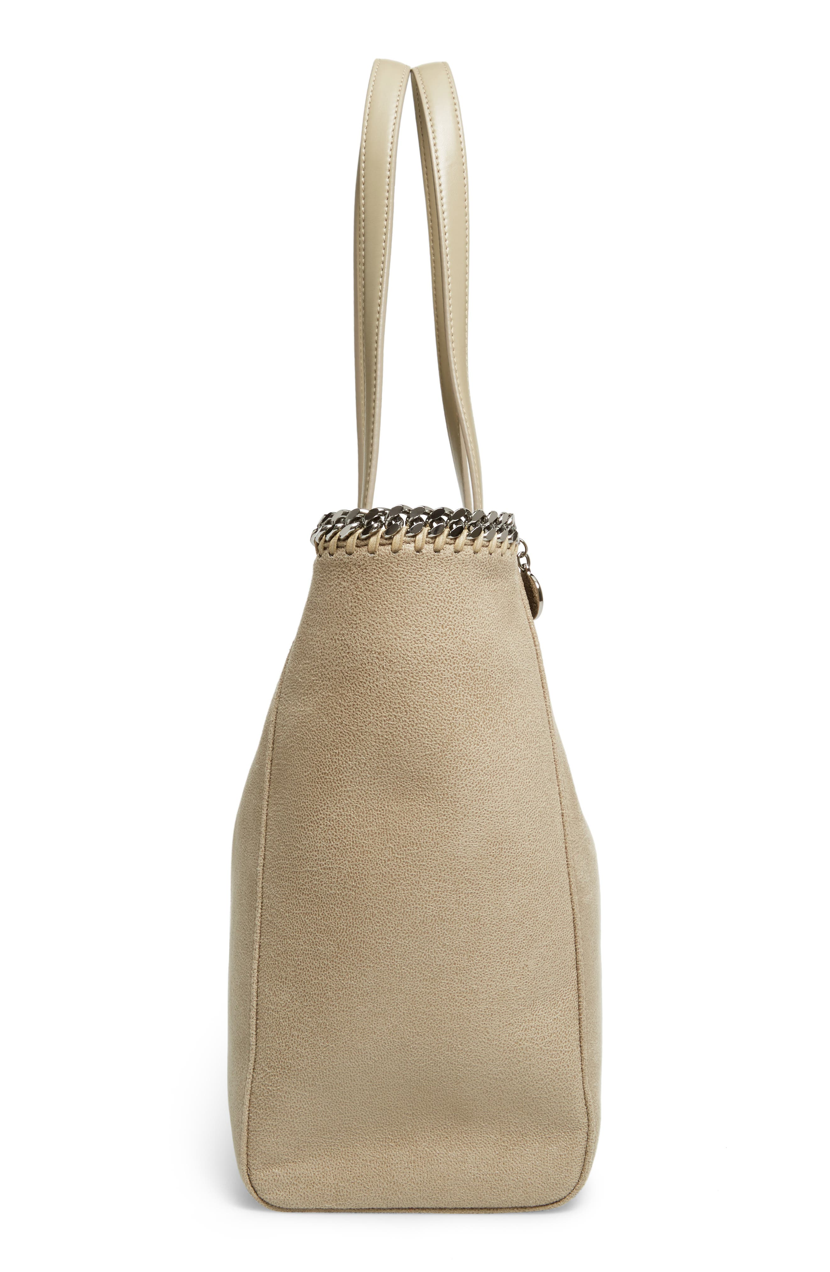 'Falabella - Shaggy Deer' Faux Leather Tote,                             Alternate thumbnail 19, color,