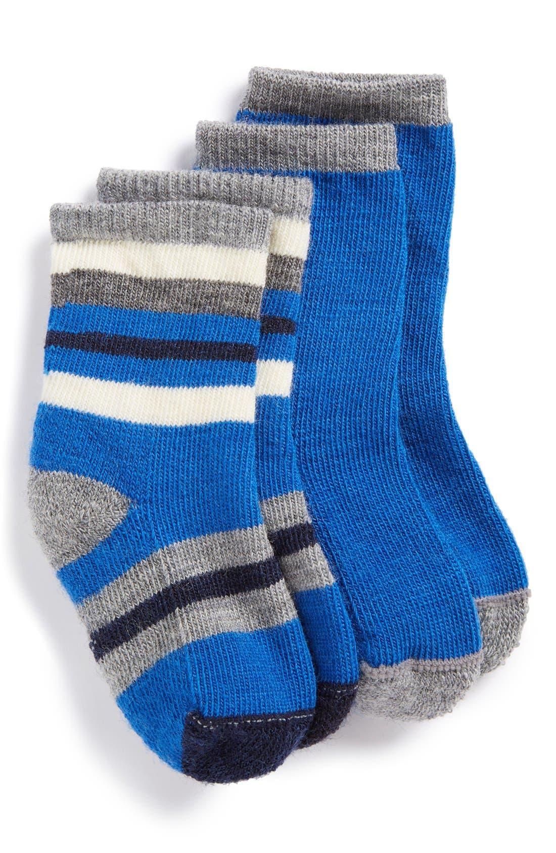 'Cozy Baby' Socks, Main, color, 400