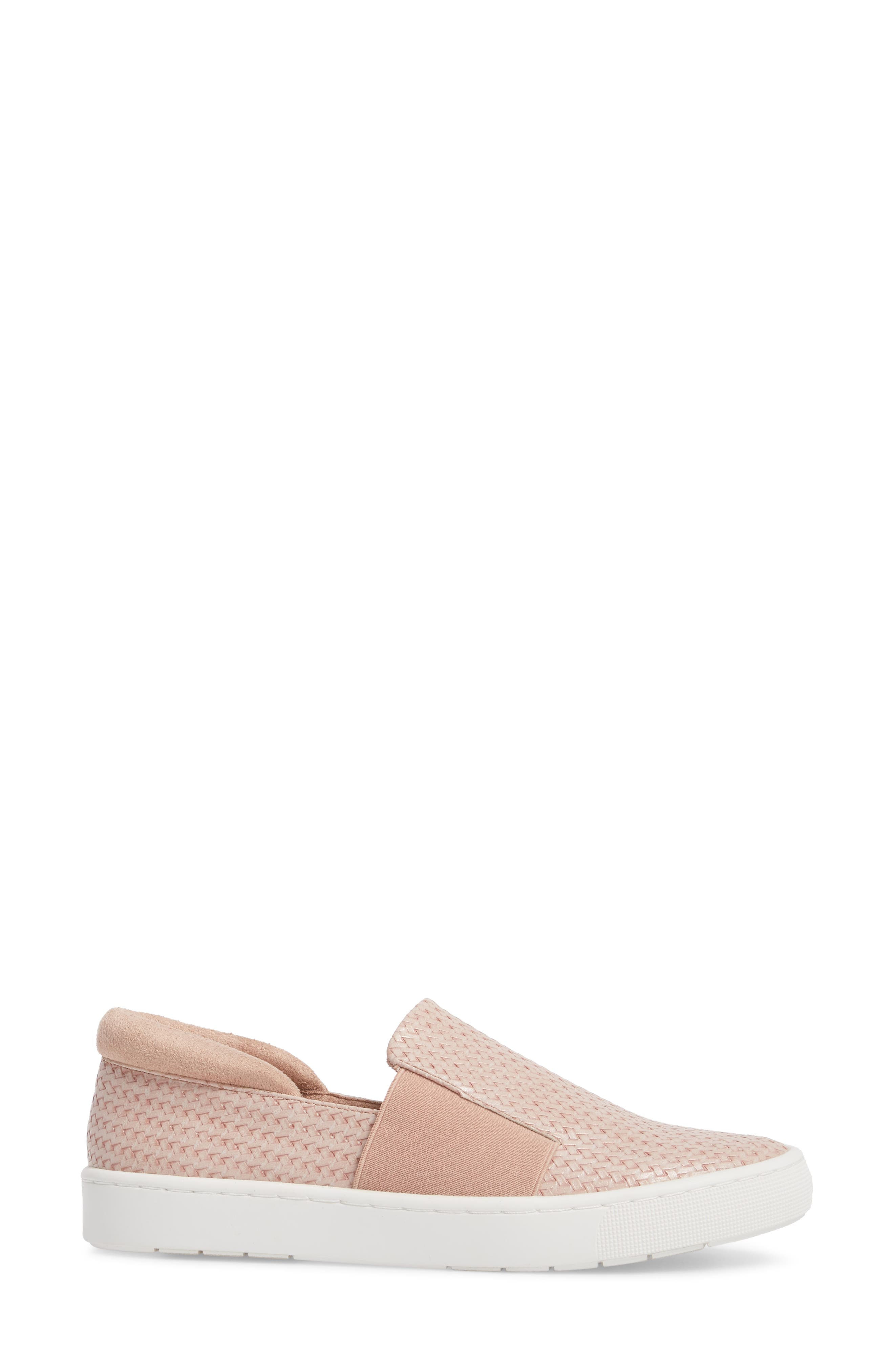 Ramp II Slip-On Sneaker,                             Alternate thumbnail 3, color,                             BLUSH FABRIC