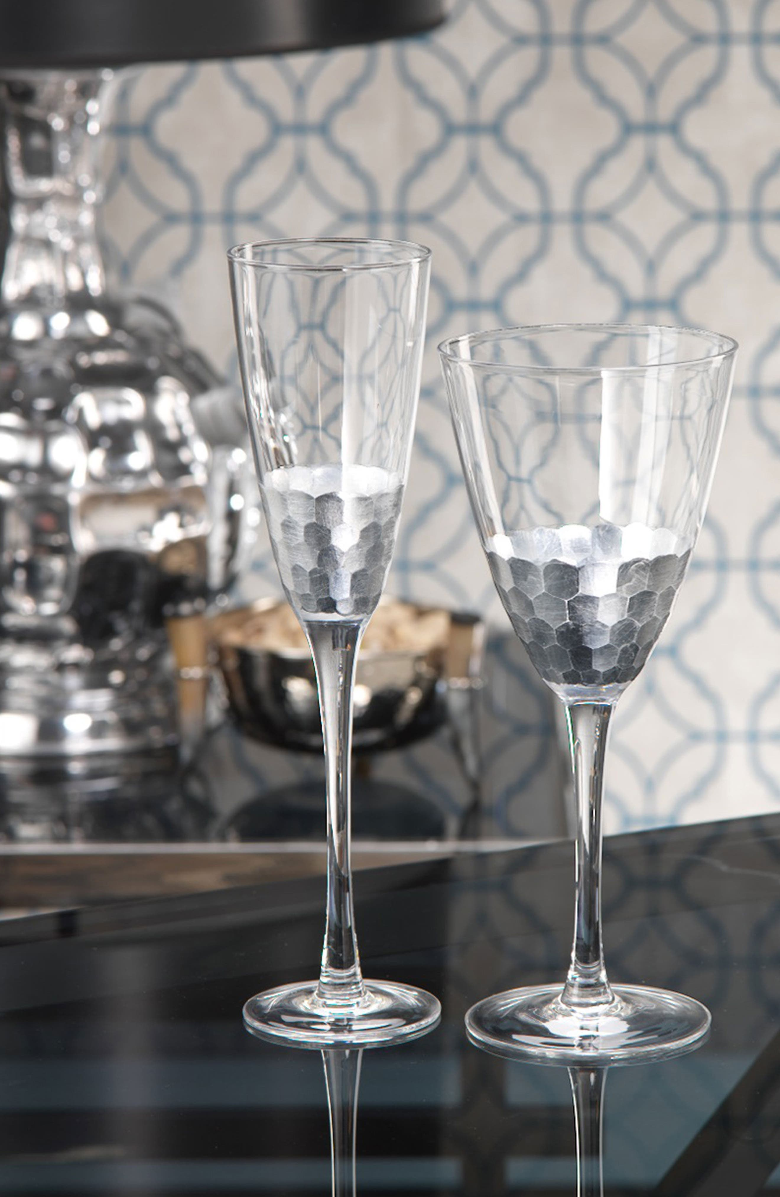 Vitorrio Set of 4 Champagne Flutes,                             Alternate thumbnail 2, color,                             040