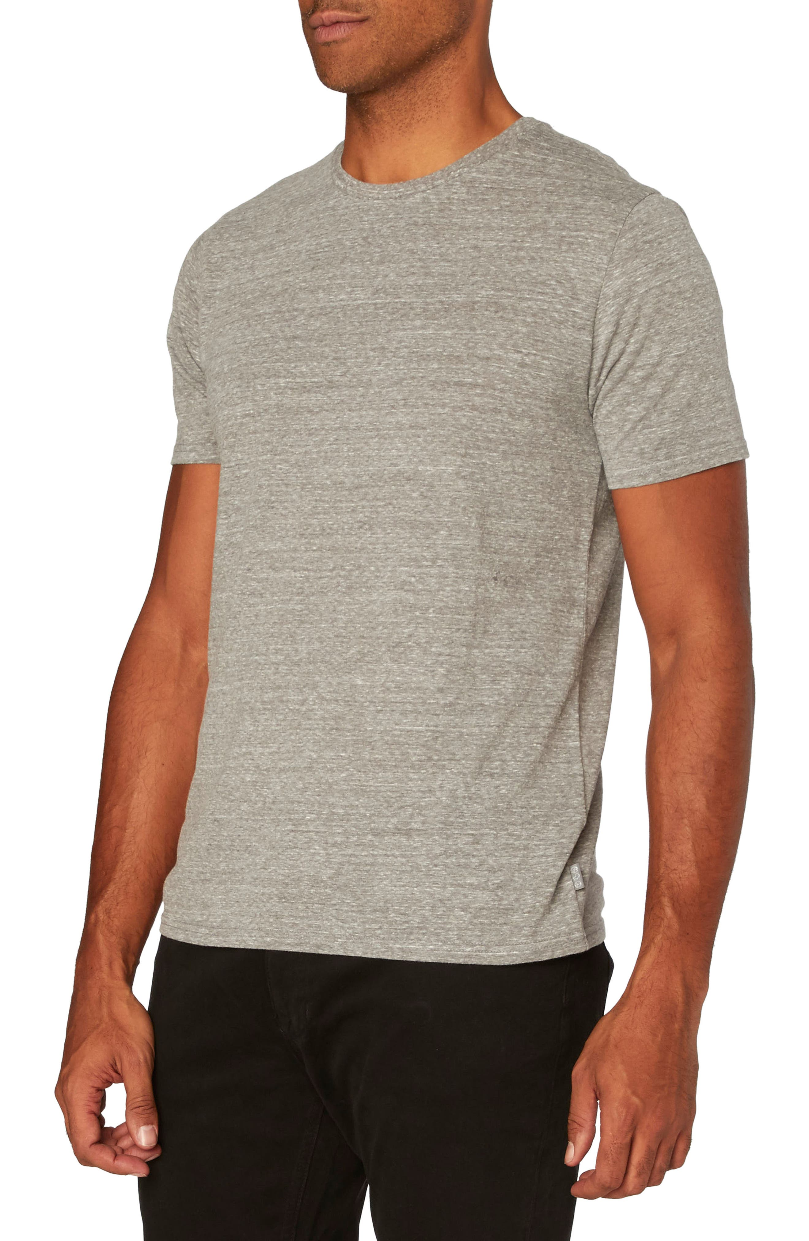 Threads for Thought Heathered Crew Neck,                             Alternate thumbnail 32, color,